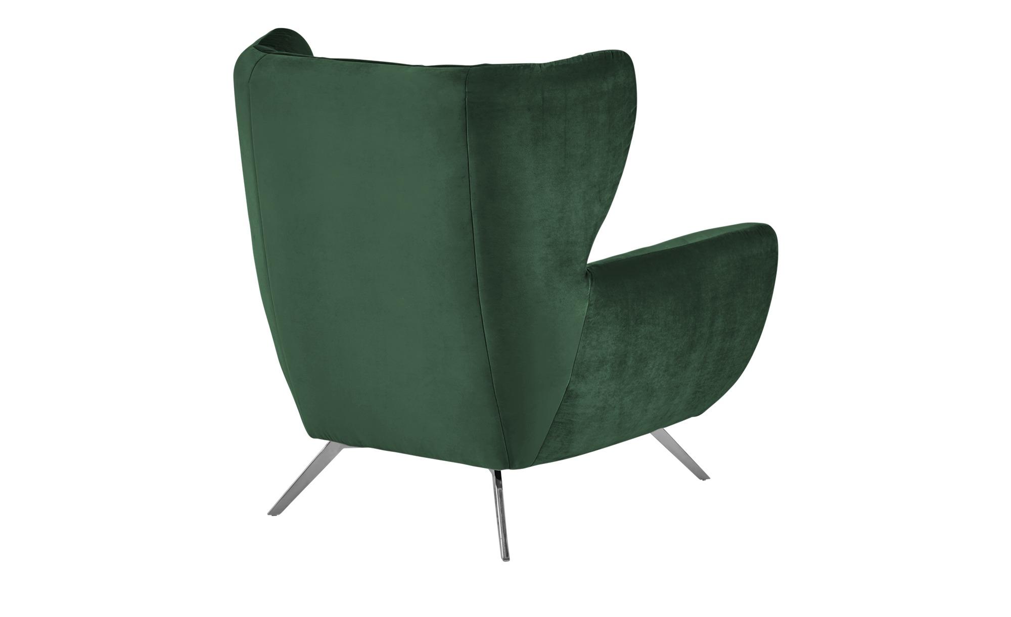 pop Hochlehnsessel  Caldara ¦ grün ¦ Maße (cm): B: 100 H: 106 T: 95 Polstermöbel > Sessel > Ohrensessel - Höffner