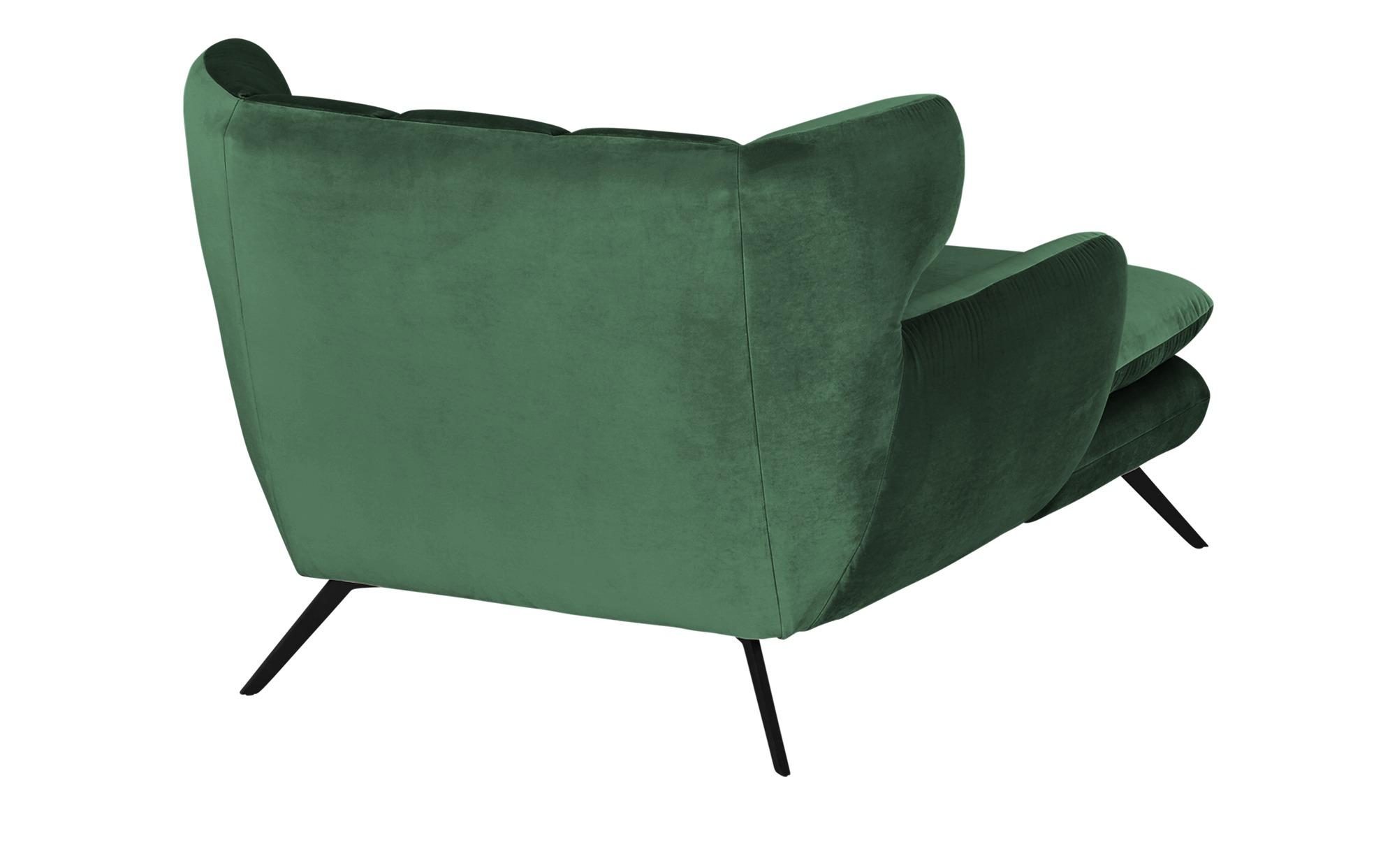 Longseat-Sessel  Caldara ¦ grün ¦ Maße (cm): B: 126 H: 94 T: 160 Polstermöbel > Sessel > Polstersessel - Höffner