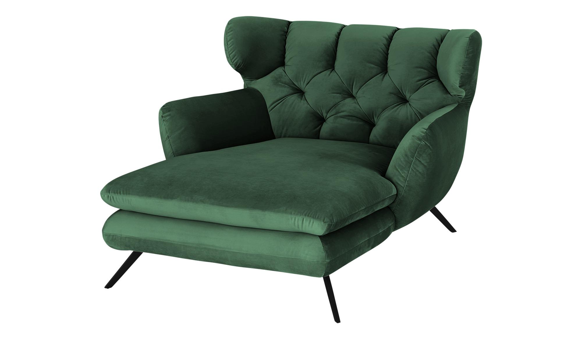 pop Longseat-Sessel  Caldara ¦ grün ¦ Maße (cm): B: 126 H: 94 T: 160 Polstermöbel > Sessel > Ohrensessel - Höffner