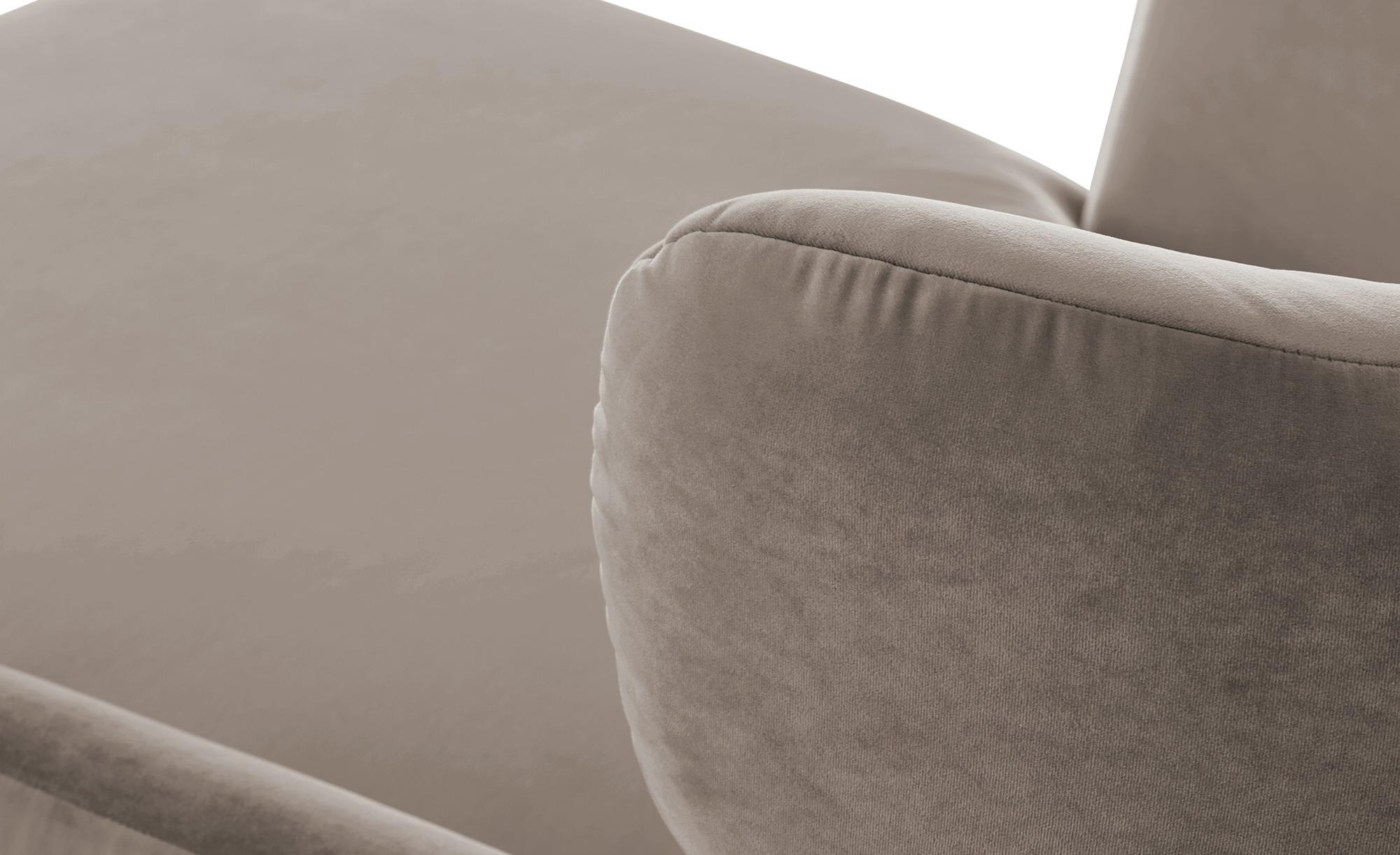 pop Longseat-Sessel  Caldara ¦ beige ¦ Maße (cm): B: 126 H: 94 T: 160 Polstermöbel > Sessel > Ohrensessel - Höffner