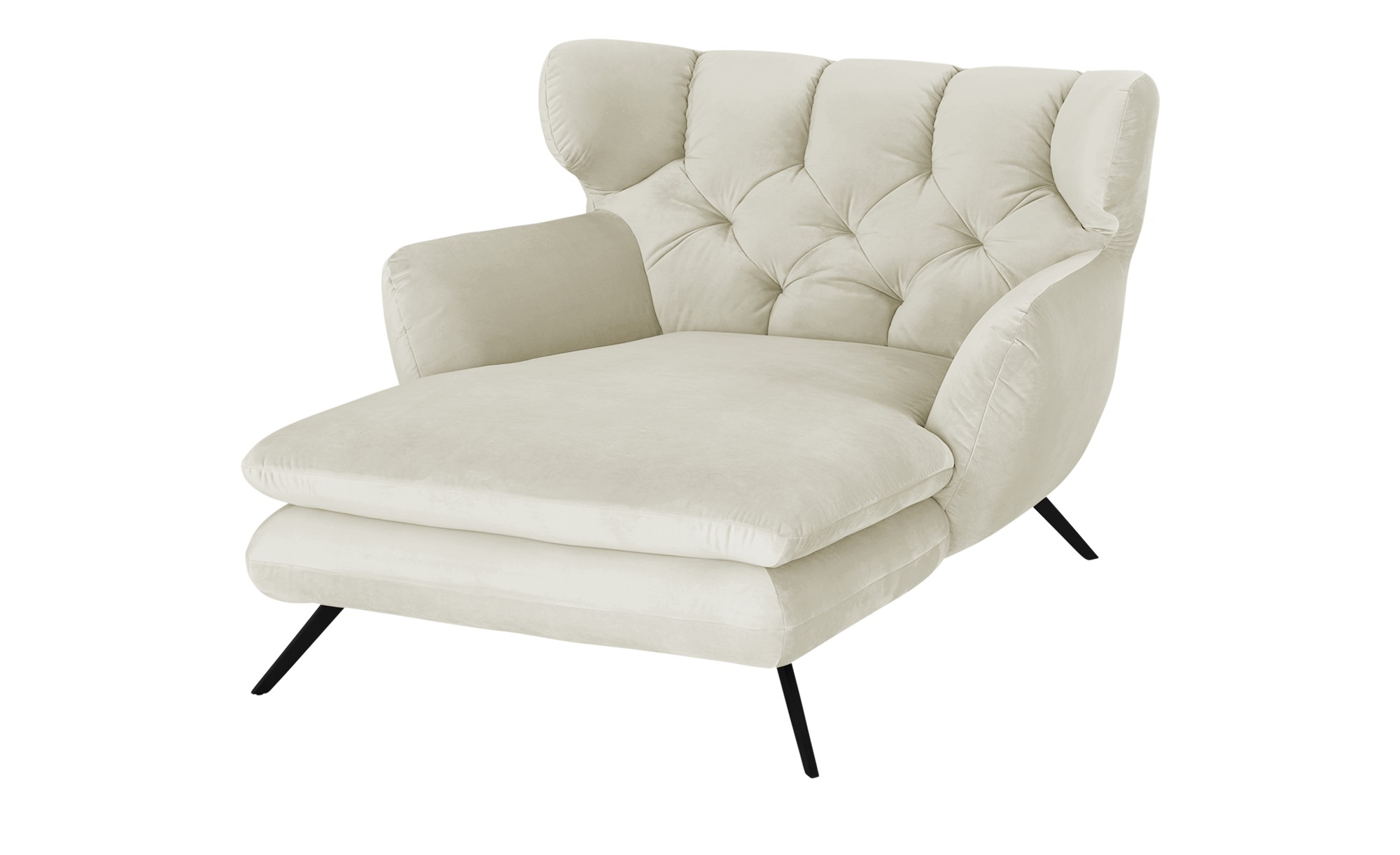 pop Longseat-Sessel  Caldara ¦ creme ¦ Maße (cm): B: 126 H: 94 T: 160 Polstermöbel > Sessel > Ohrensessel - Höffner