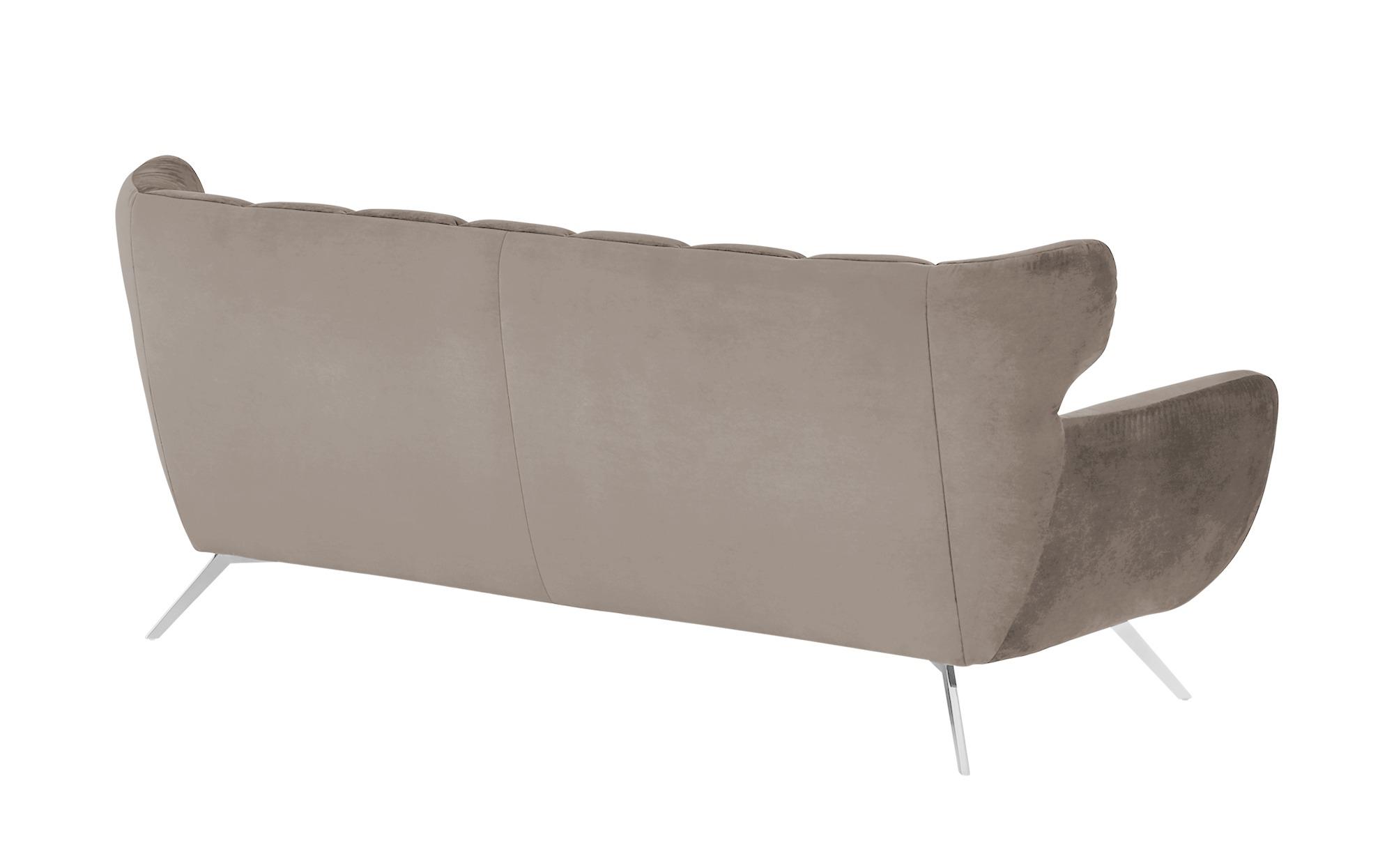 pop Sofa  Caldara ¦ beige ¦ Maße (cm): B: 225 H: 94 T: 95 Polstermöbel > Sofas > 3-Sitzer - Höffner