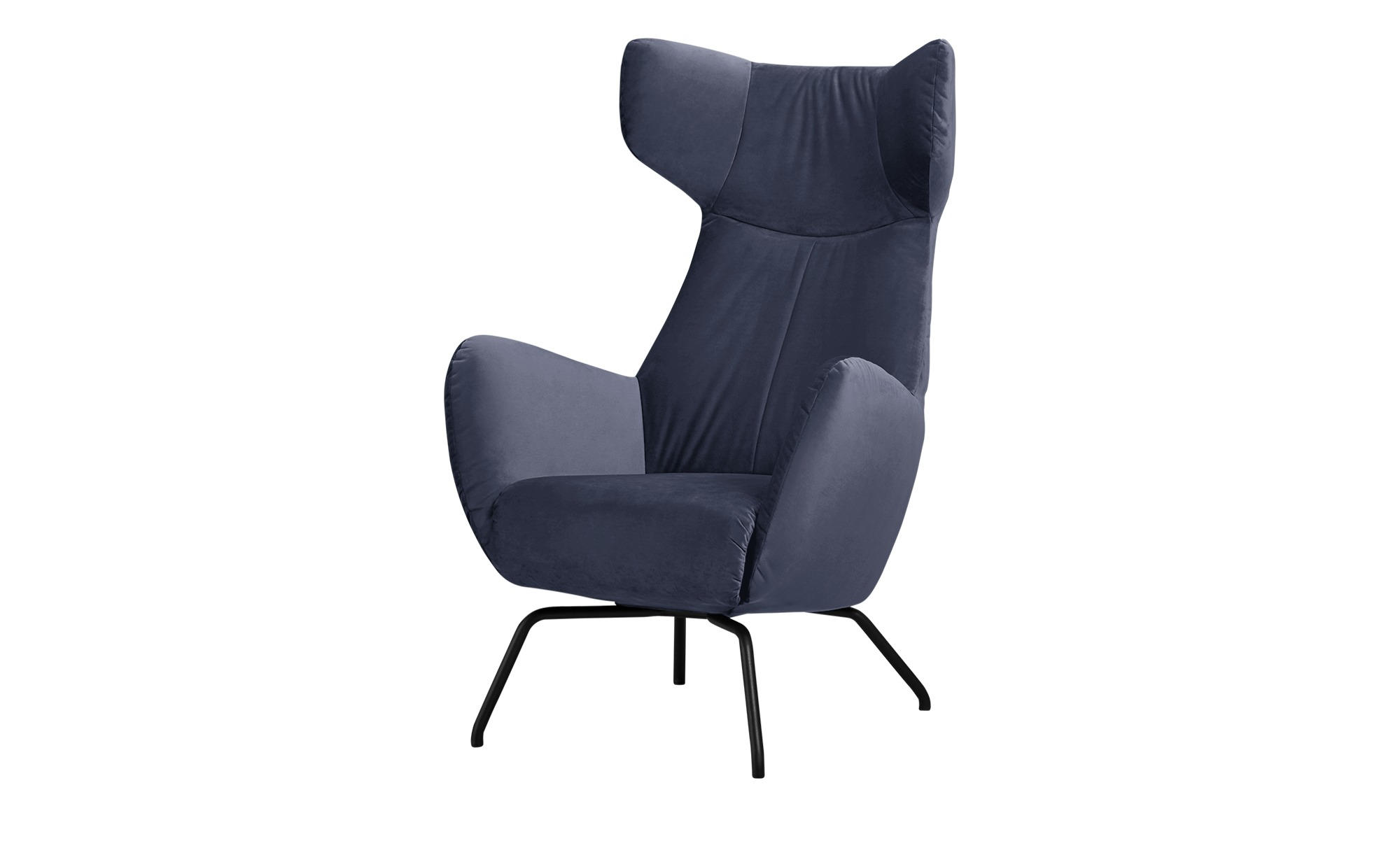 Sessel  Corelli ¦ blau ¦ Maße (cm): B: 79 H: 117 T: 82 Polstermöbel > Sessel > Polstersessel - Höffner