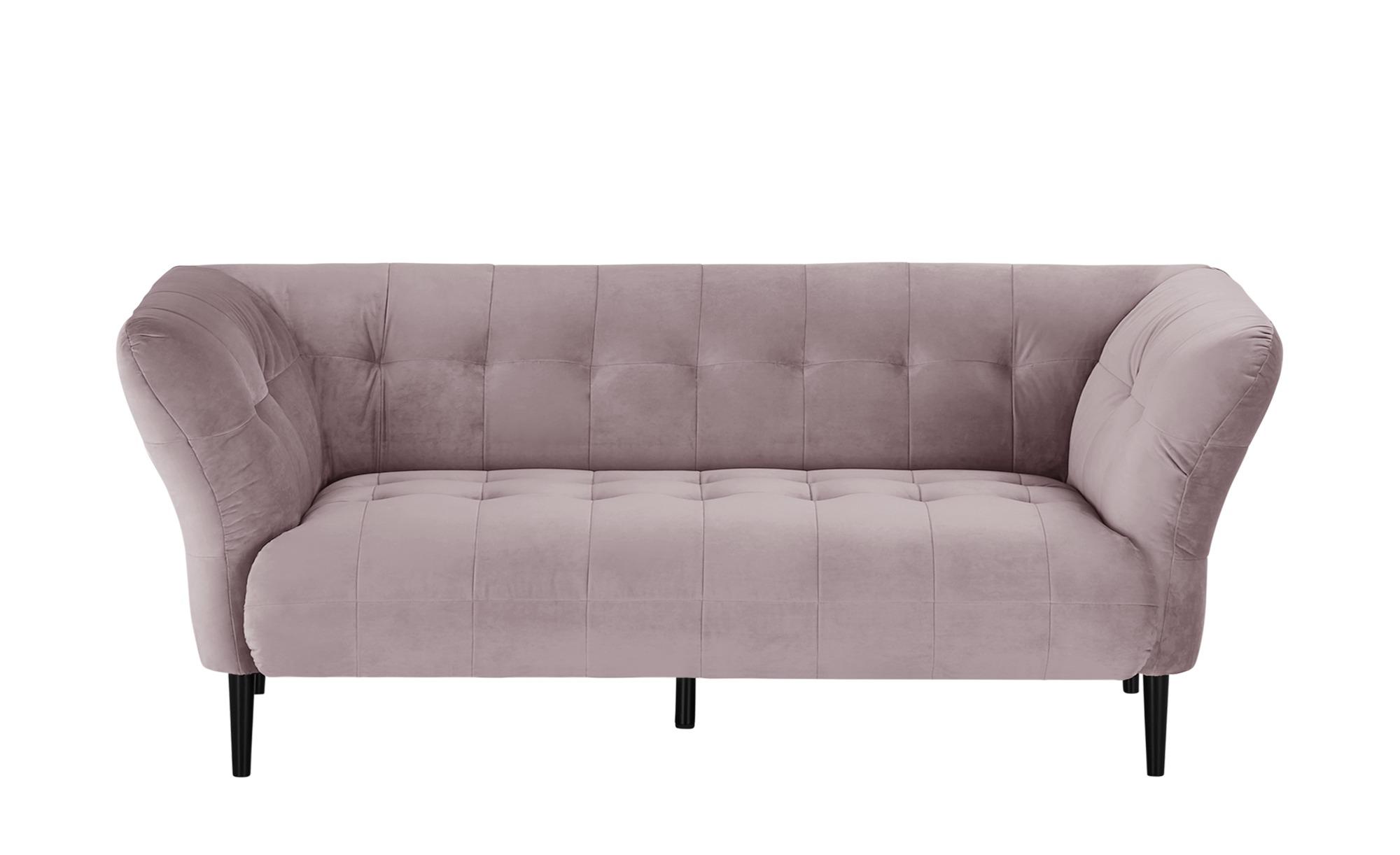 Sofa  Puccini ¦ rosa/pink ¦ Maße (cm): B: 200 H: 79 T: 97 Polstermöbel > Sofas > 2-Sitzer - Höffner