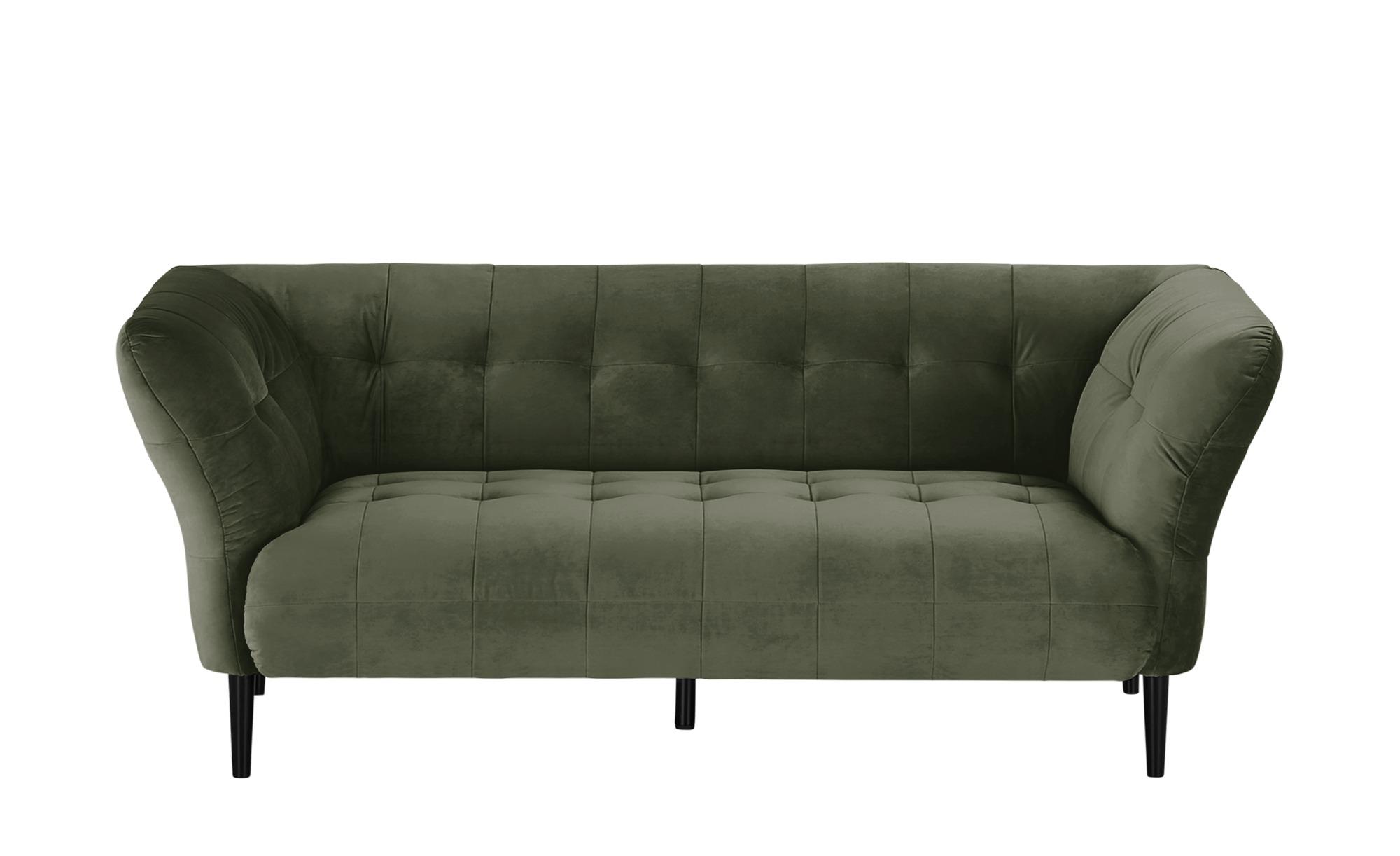 Sofa  Puccini ¦ grün ¦ Maße (cm): B: 200 H: 79 T: 97 Polstermöbel > Sofas > 2-Sitzer - Höffner