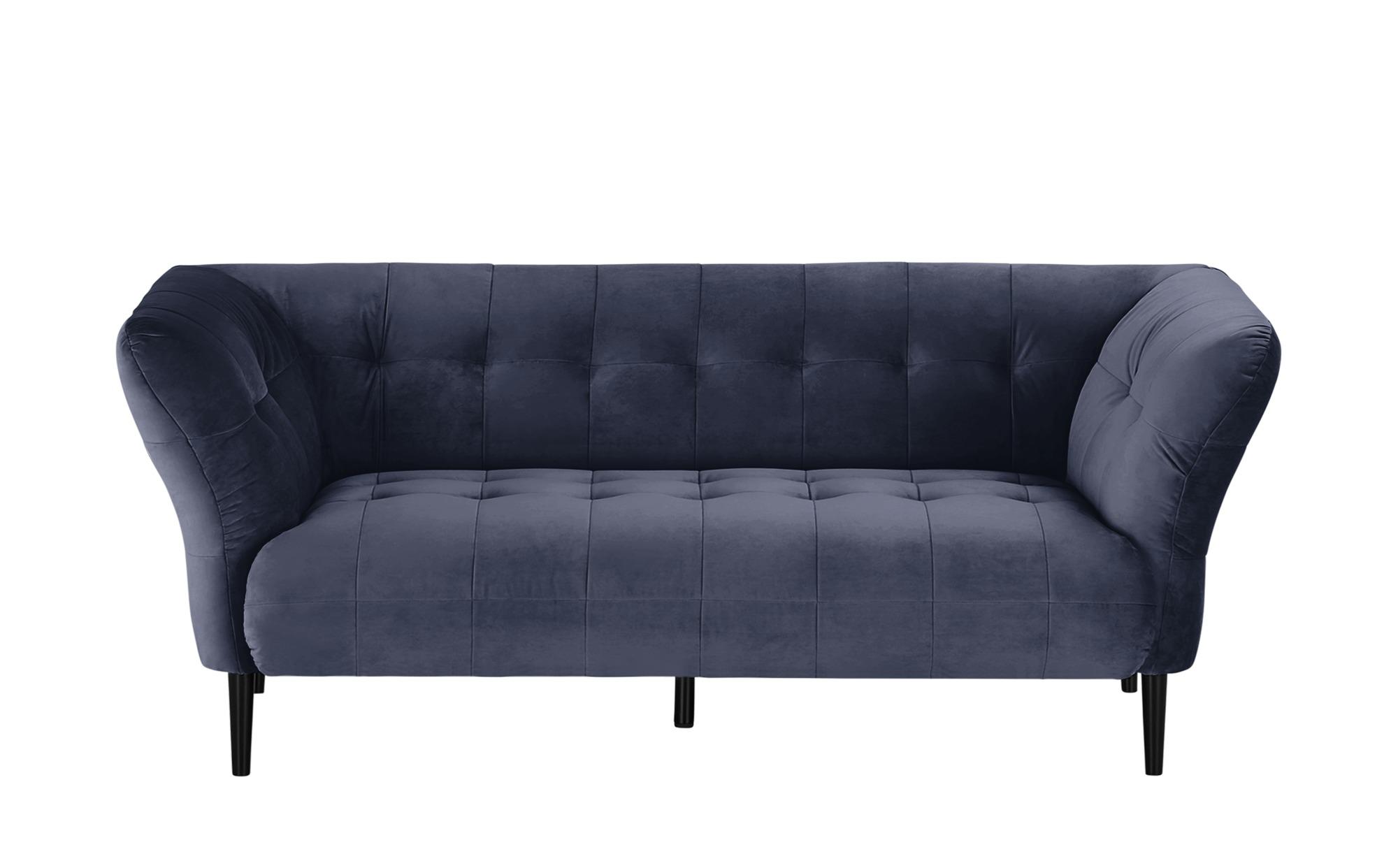 pop Sofa  Puccini ¦ blau ¦ Maße (cm): B: 200 H: 79 T: 97 Polstermöbel > Sofas > 2-Sitzer - Höffner