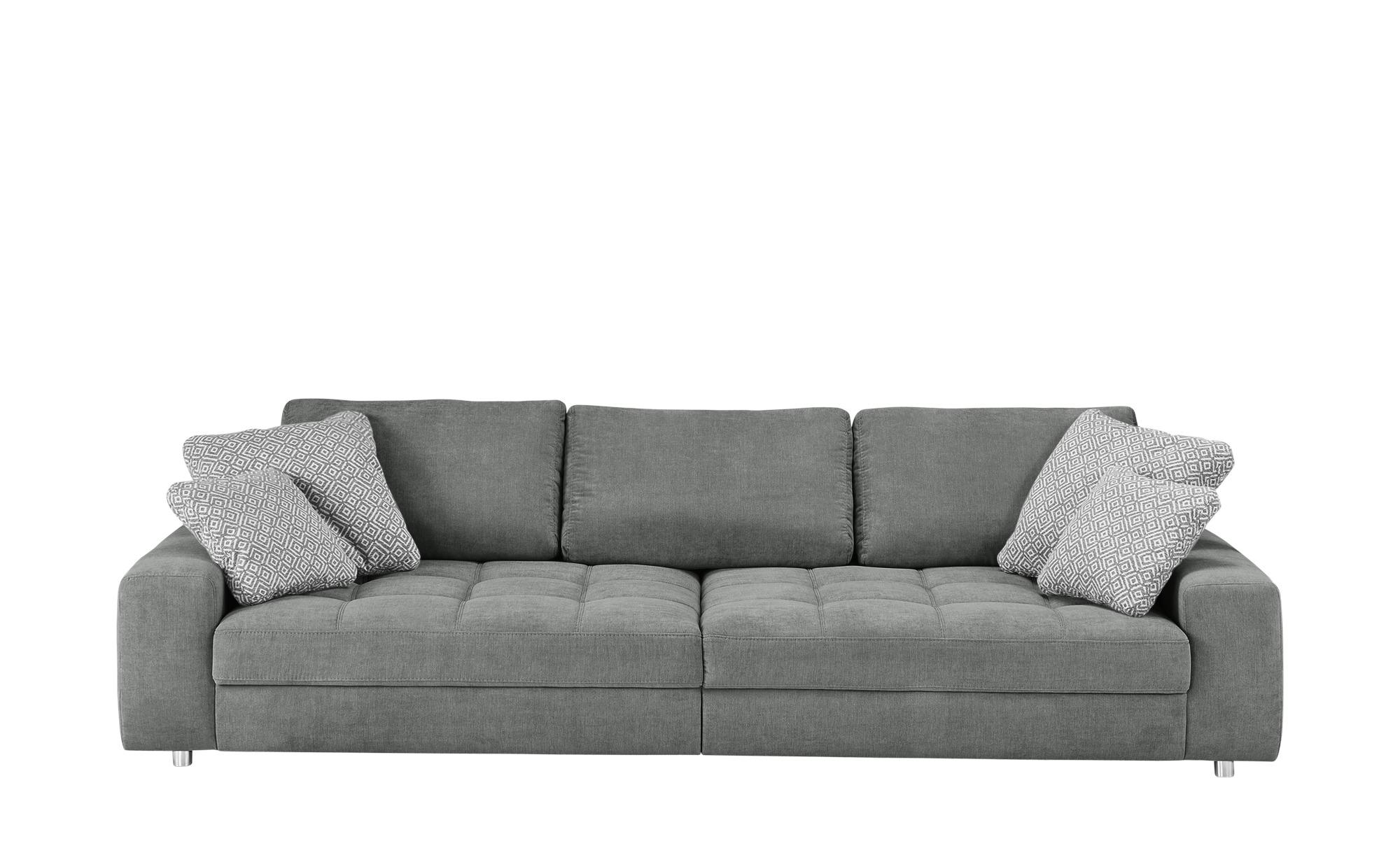 bobb Big Sofa  Arissa ¦ grau ¦ Maße (cm): B: 292 H: 84 T: 120 Polstermöbel > Sofas > Big-Sofas - Höffner