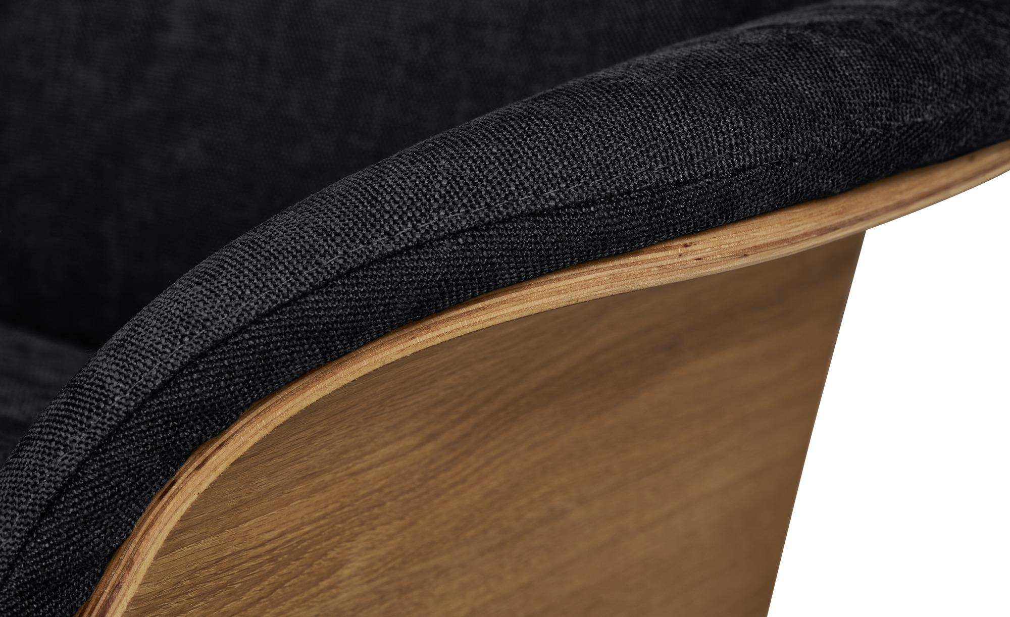 Nils Olsen Relaxsessel  Stian ¦ schwarz ¦ Maße (cm): B: 77 H: 116 T: 82 Polstermöbel > Sessel > Fernsehsessel - Höffner