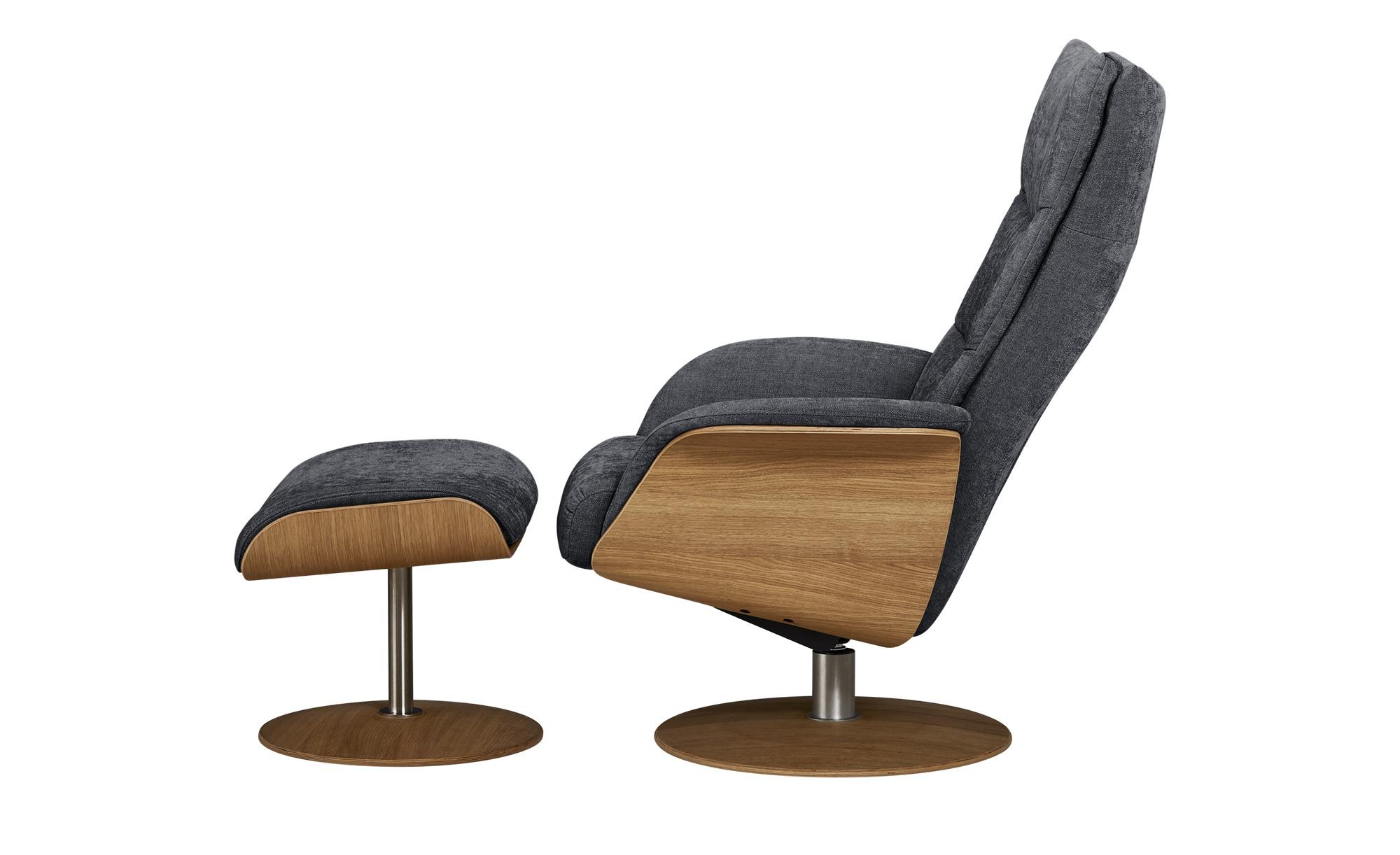 Relaxsessel  Stian ¦ grau ¦ Maße (cm): B: 77 H: 116 T: 82 Polstermöbel > Sessel > Fernsehsessel - Höffner