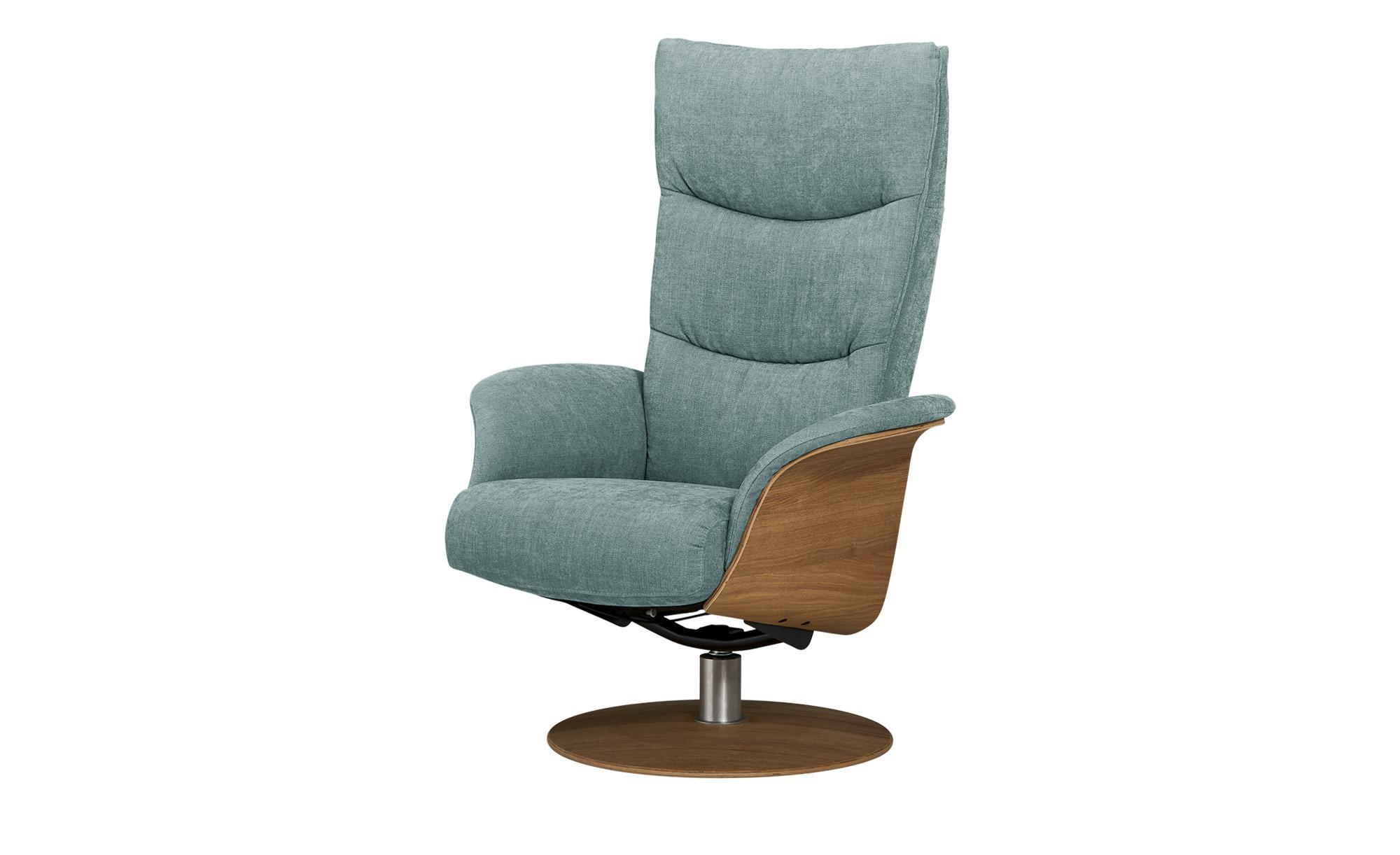 Relaxsessel  Stian ¦ blau ¦ Maße (cm): B: 77 H: 116 T: 82 Polstermöbel > Sessel > Fernsehsessel - Höffner