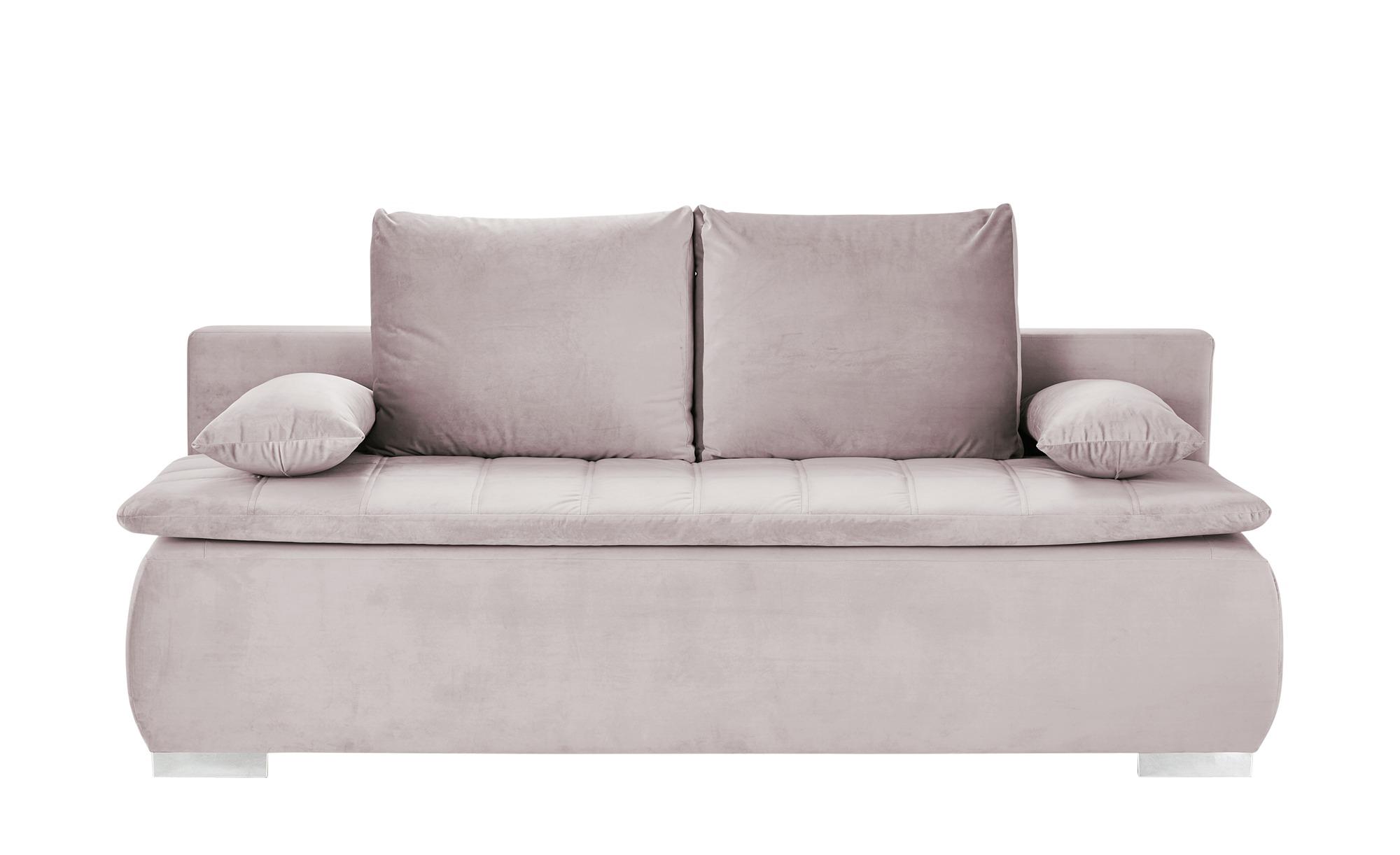 smart Schlafsofa  Leonie ¦ rosa/pink ¦ Maße (cm): B: 198 H: 92 T: 90 Polstermöbel > Sofas > Einzelsofas - Höffner