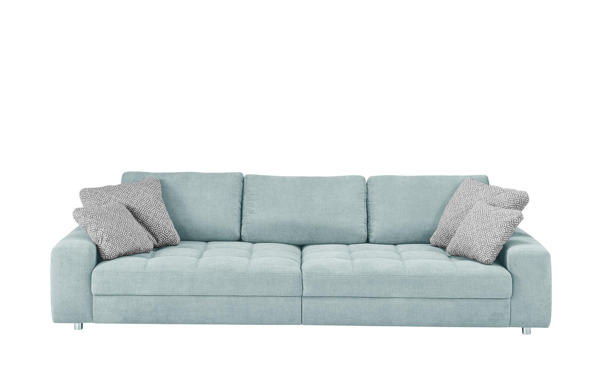 bobb Big Sofa  Arissa ¦ blau ¦ Maße (cm): B: 292 H: 84 T: 120 Polstermöbel > Sofas > Big-Sofas - Höffner