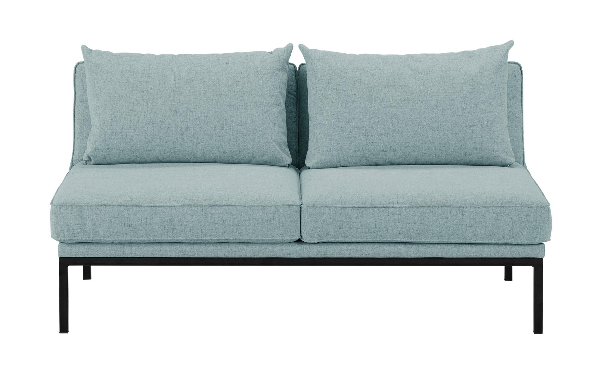 Funktionssofa, 2-sitzig  Laura ¦ grün ¦ Maße (cm): B: 160 H: 45 T: 80 Polstermöbel > Sofas > 2-Sitzer - Höffner