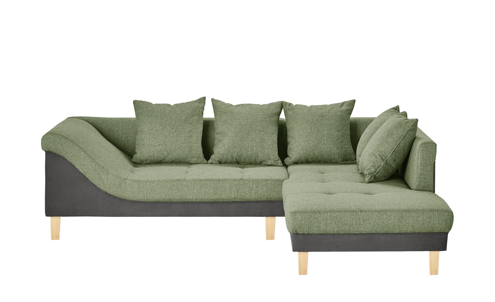 Ecksofa   Rita ¦ grün ¦ Maße (cm): H: 86 Polstermöbel > Sofas > Ecksofas - Höffner