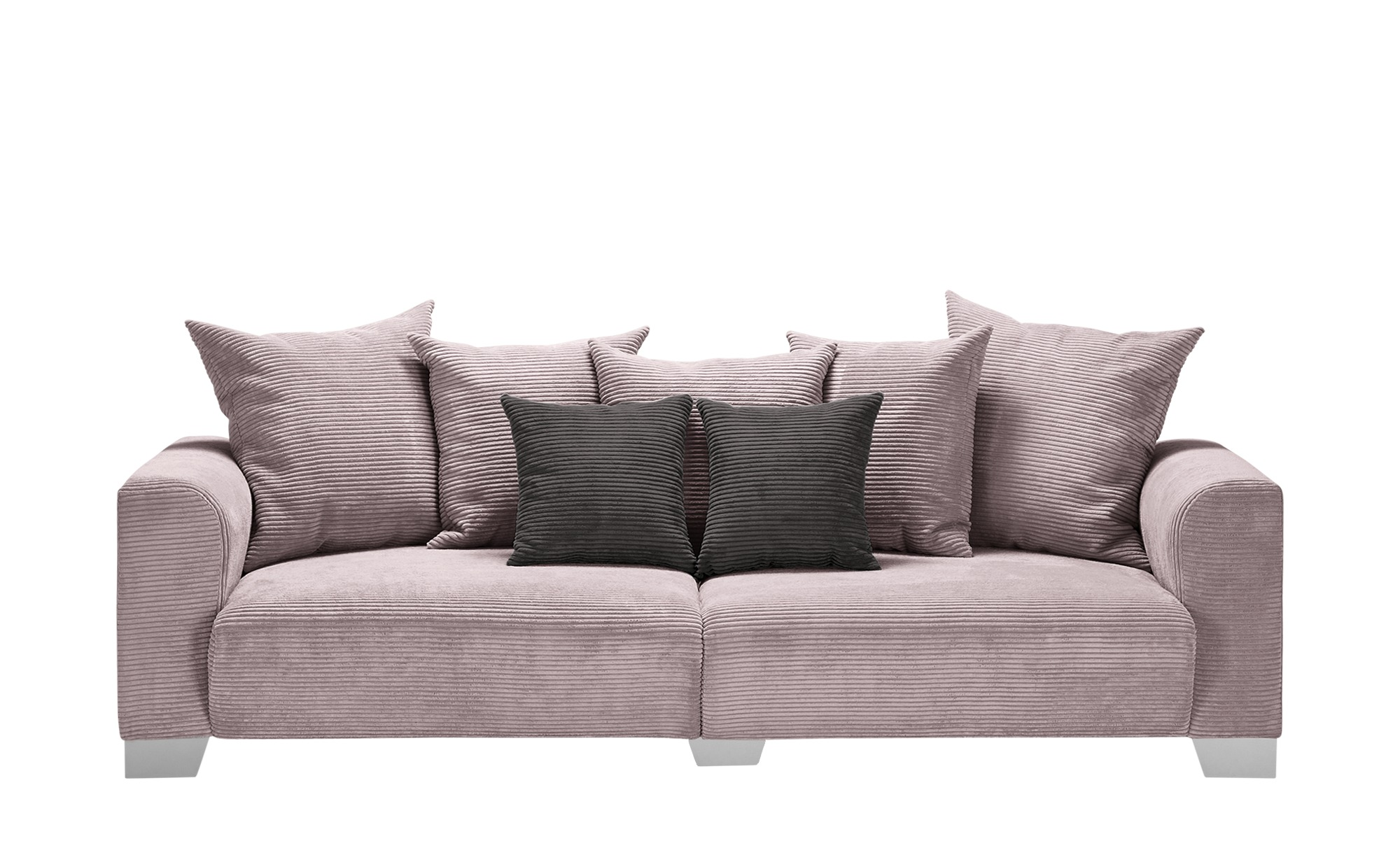 smart Big Sofa  Tonja ¦ rosa/pink ¦ Maße (cm): B: 244 H: 68 T: 107 Polstermöbel > Sofas > Big-Sofas - Höffner
