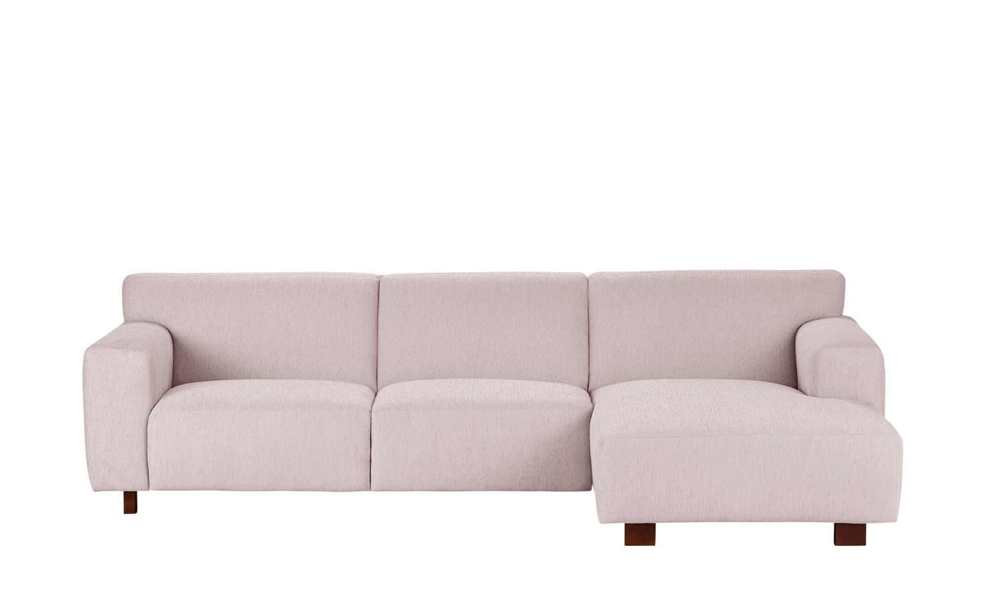 SOHO Ecksofa  Tiana ¦ rosa/pink ¦ Maße (cm): H: 77 Polstermöbel > Sofas > Ecksofas - Höffner