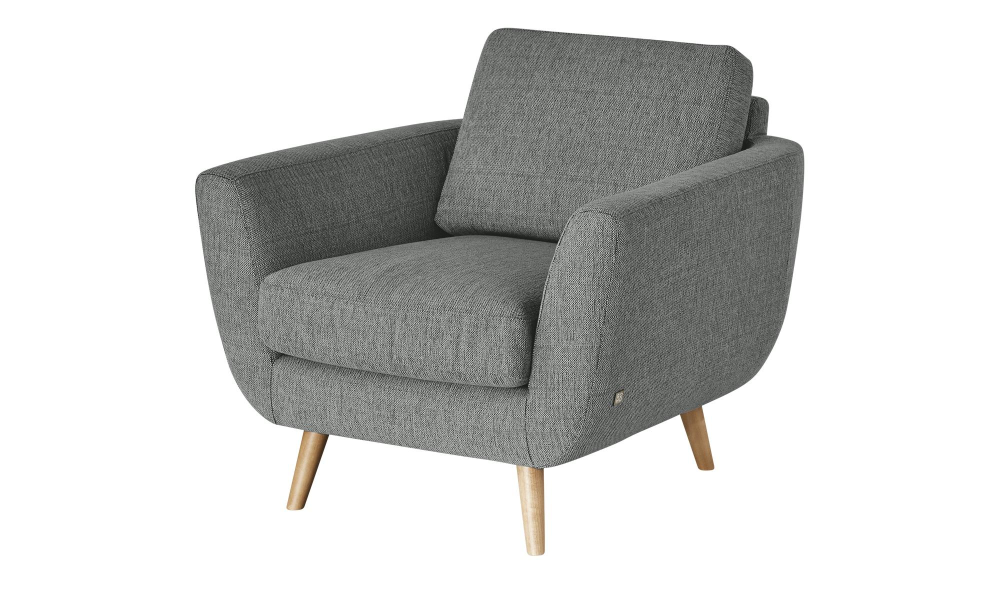 SOHO Sessel  Smilla ¦ grau ¦ Maße (cm): B: 94 H: 85 T: 93 Polstermöbel > Sessel > Ohrensessel - Höffner