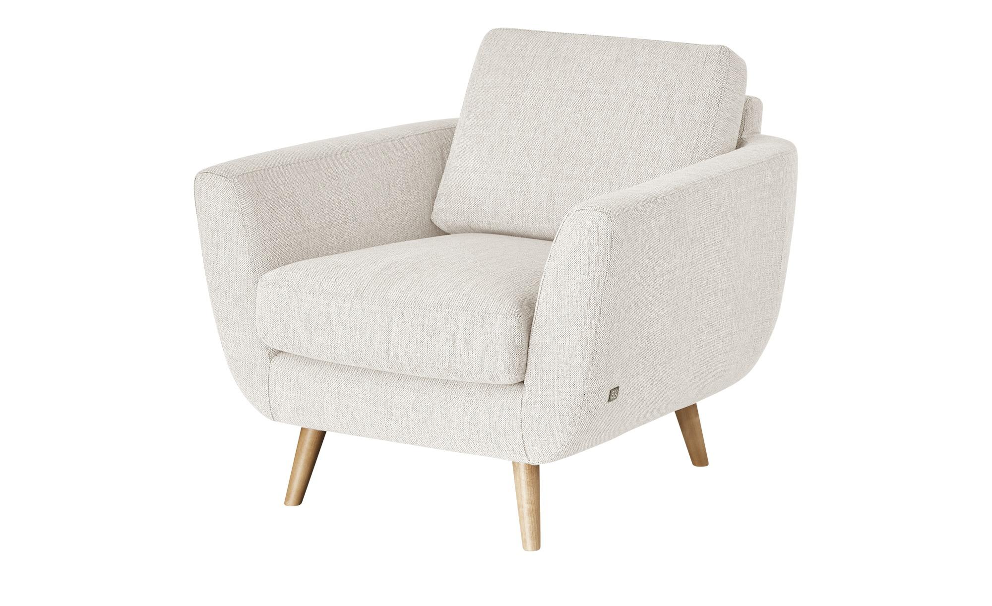 SOHO Sessel  Smilla ¦ weiß ¦ Maße (cm): B: 94 H: 85 T: 93 Polstermöbel > Sessel > Ohrensessel - Höffner