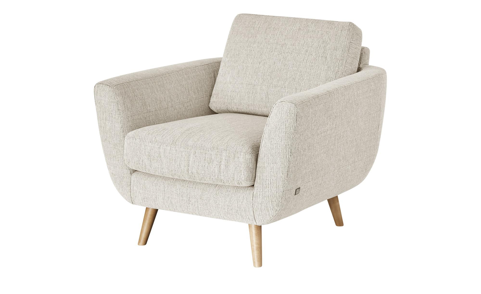 SOHO Sessel  Smilla ¦ beige ¦ Maße (cm): B: 94 H: 85 T: 93 Polstermöbel > Sessel > Ohrensessel - Höffner