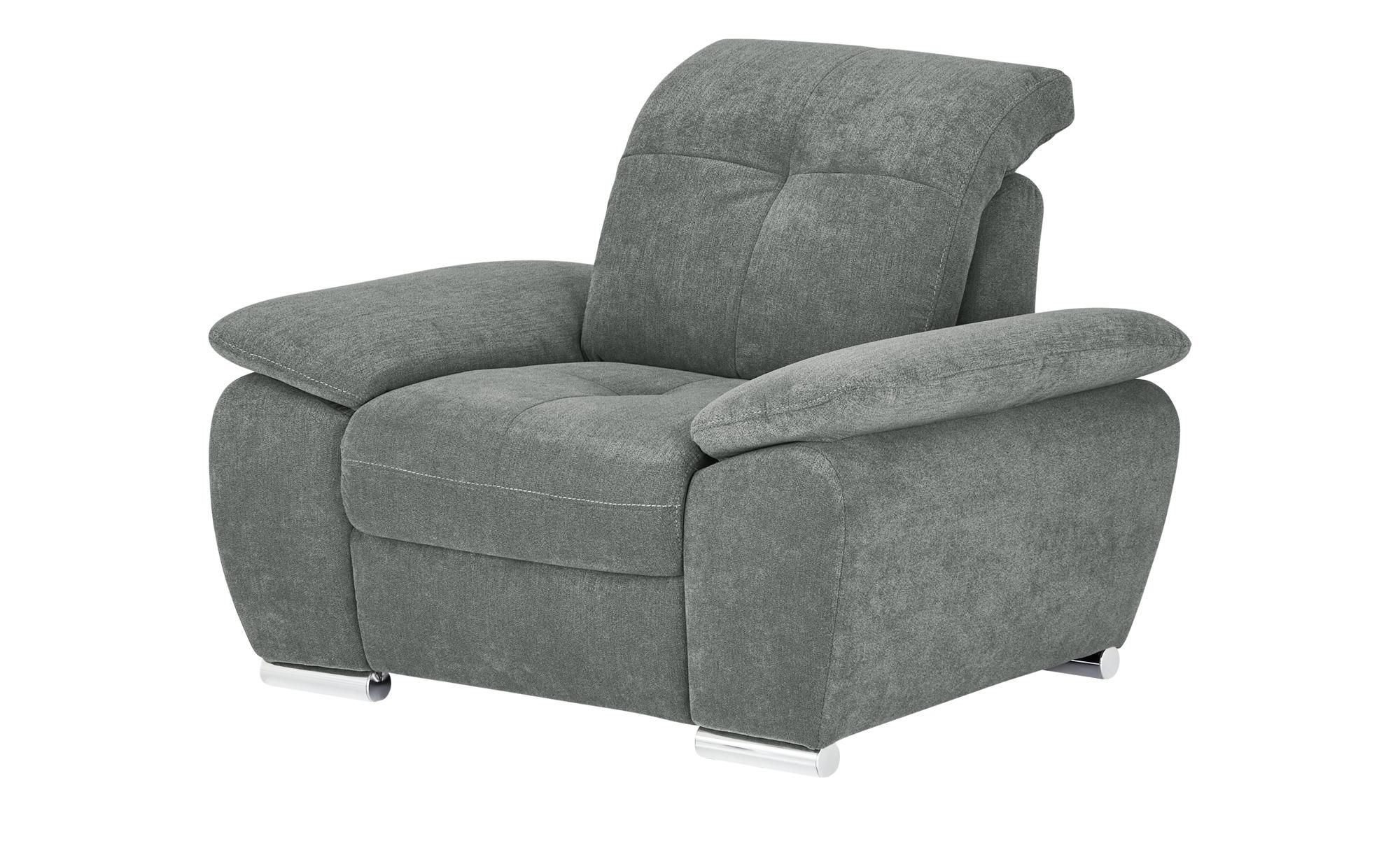 Sessel  Gladays ¦ grau ¦ Maße (cm): B: 108 H: 89 T: 104 Polstermöbel > Sessel > Polstersessel - Höffner