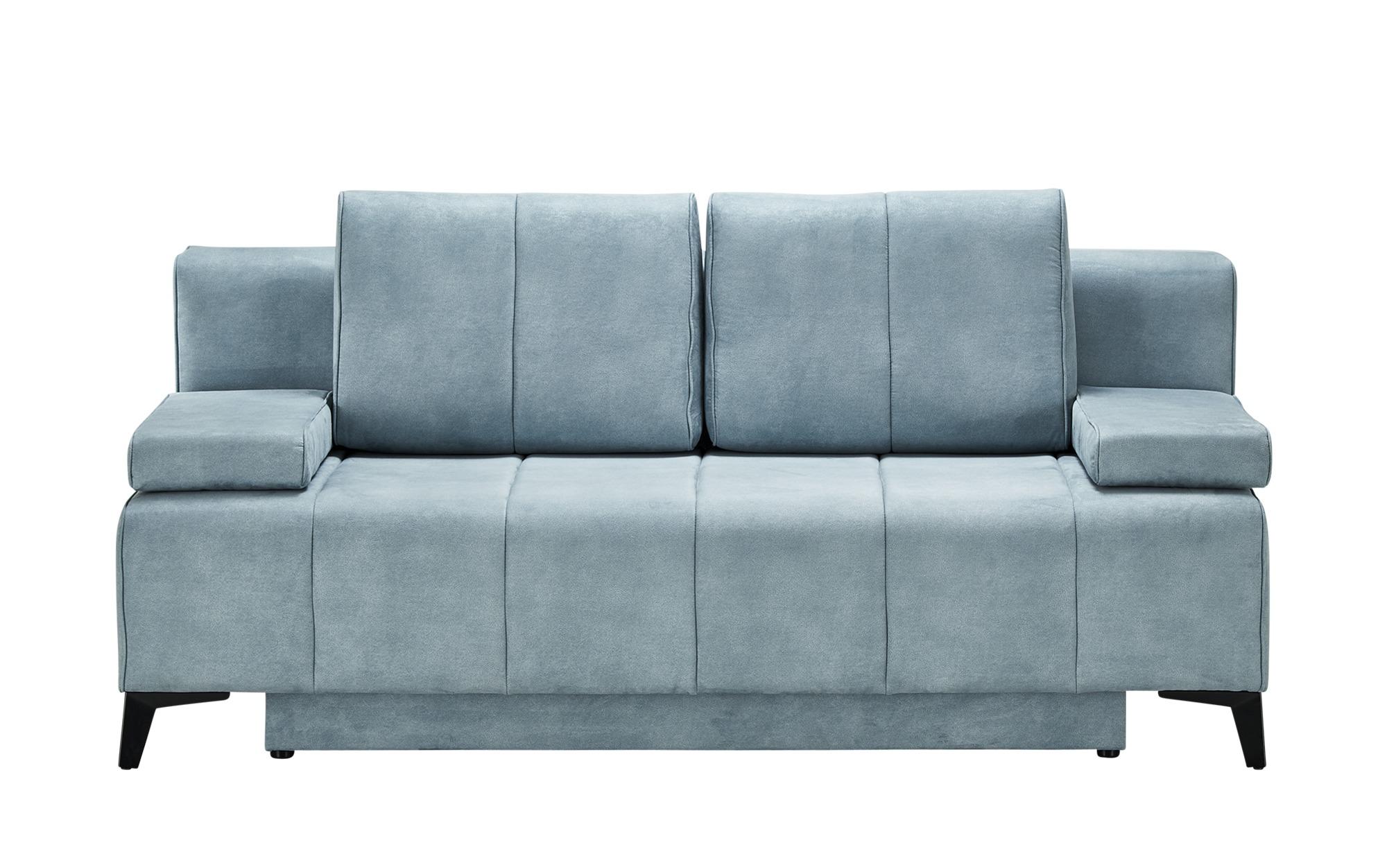 Schlafsofa  Clara ¦ blau ¦ Maße (cm): B: 200 H: 94 T: 102 Polstermöbel > Sofas > 2-Sitzer - Höffner