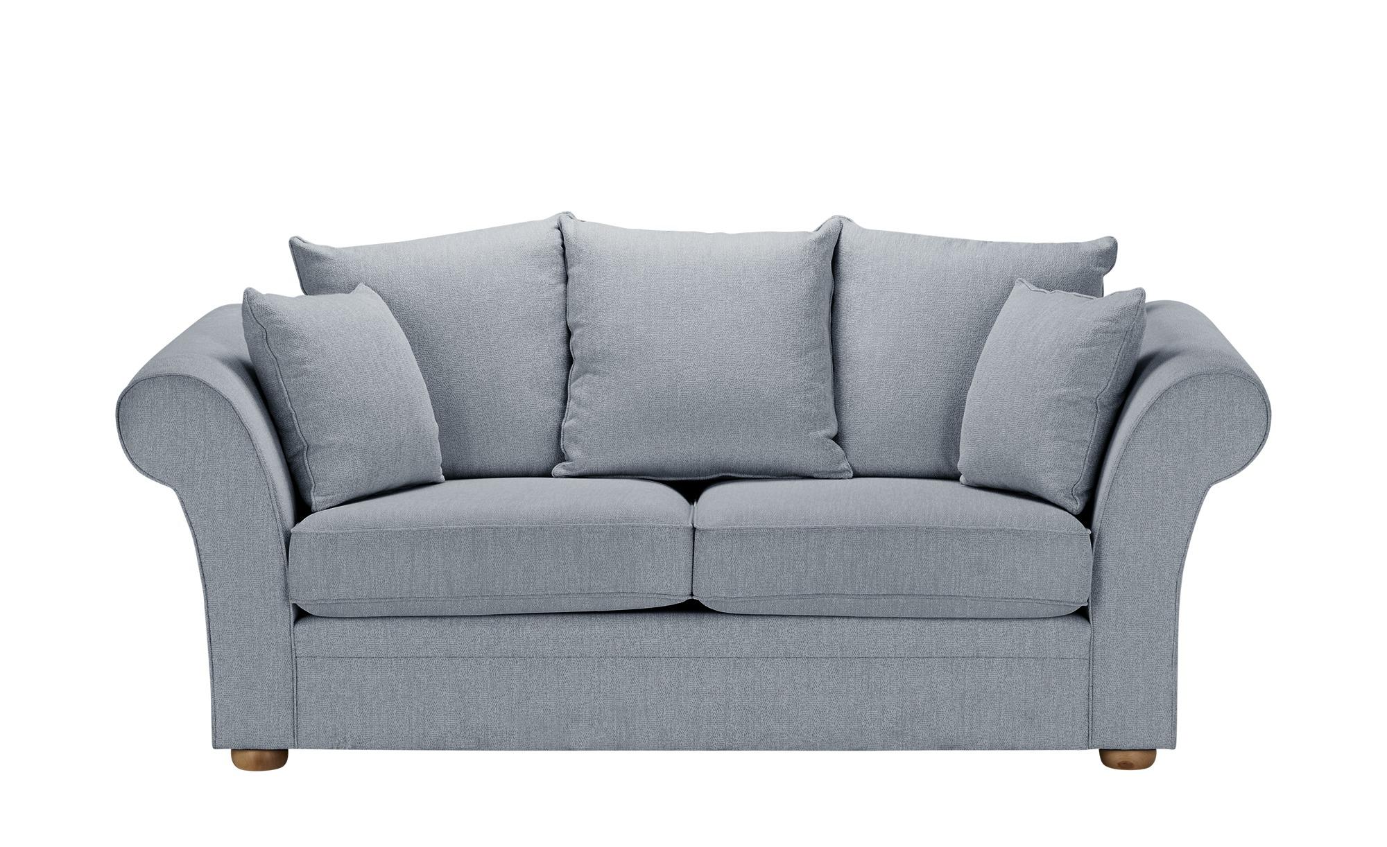 Sofa  Olivia ¦ blau ¦ Maße (cm): B: 215 H: 100 T: 98 Polstermöbel > Sofas > Einzelsofas - Höffner