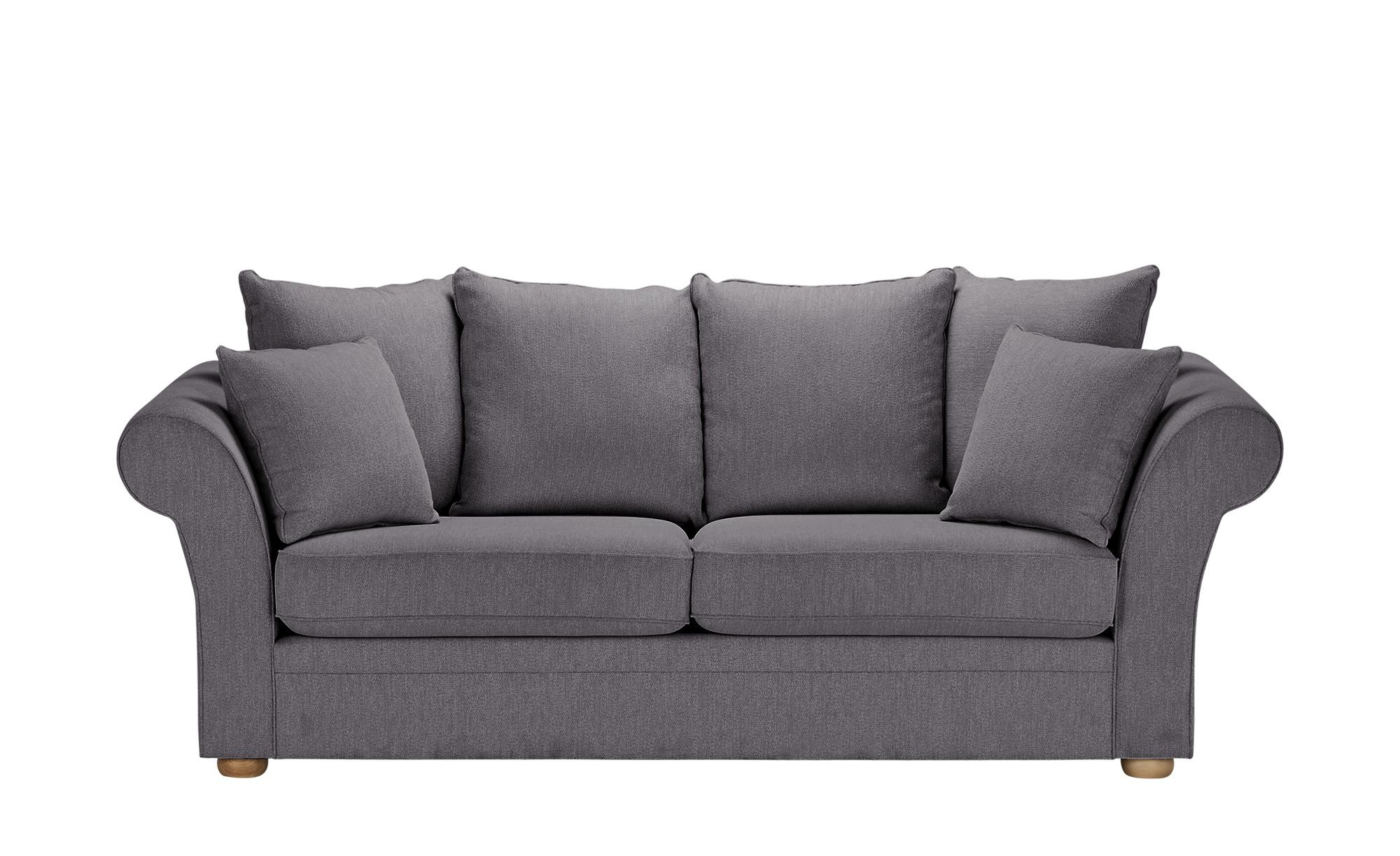 Sofa  Olivia ¦ grau ¦ Maße (cm): B: 240 H: 100 T: 98 Polstermöbel > Sofas > 3-Sitzer - Höffner