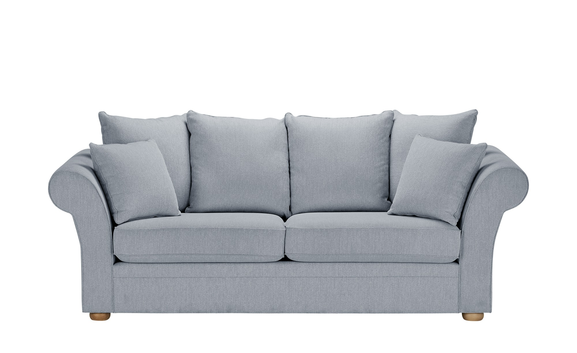 Sofa  Olivia ¦ blau ¦ Maße (cm): B: 240 H: 100 T: 98 Polstermöbel > Sofas > 3-Sitzer - Höffner