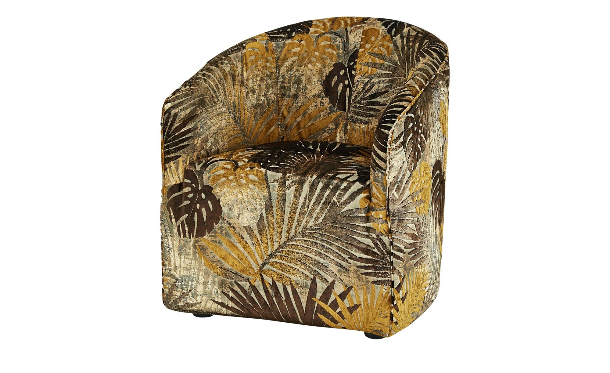 Sessel  Nina ¦ braun ¦ Maße (cm): B: 70 H: 74 T: 68 Polstermöbel > Sessel > Polstersessel - Höffner