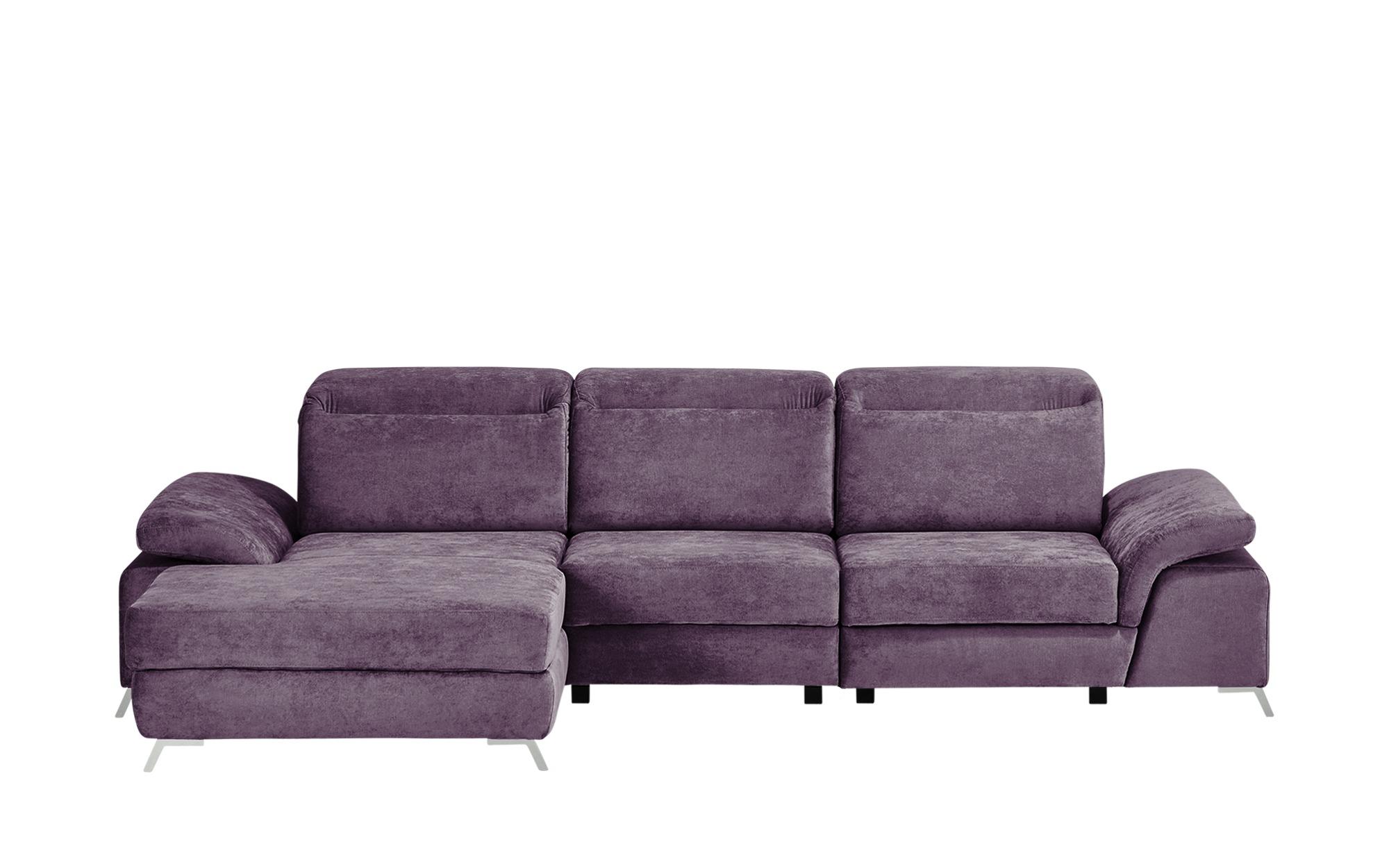 switch Ecksofa  Chilio ¦ lila/violett Polstermöbel > Sofas > Ecksofas - Höffner