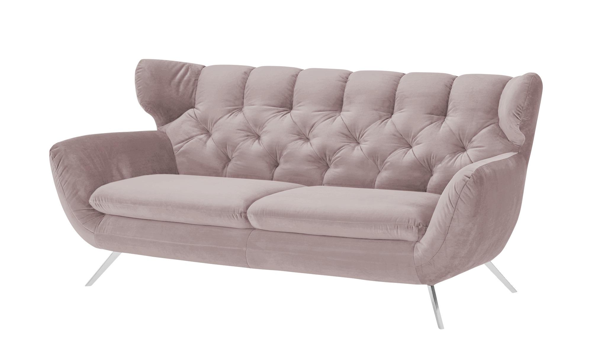 pop Sofa  Caldara ¦ rosa/pink ¦ Maße (cm): B: 200 H: 94 T: 95 Polstermöbel > Sofas > Einzelsofas - Höffner