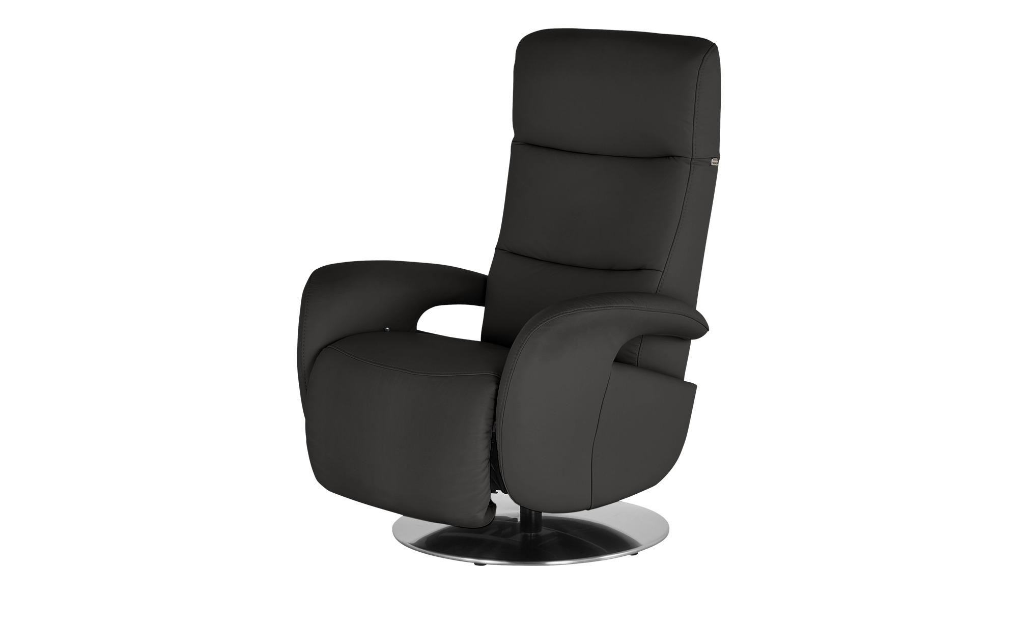 Hukla Relaxsessel  Andy ¦ schwarz ¦ Maße (cm): B: 79 H: 110 T: 85 Polstermöbel > Sessel > Fernsehsessel - Höffner