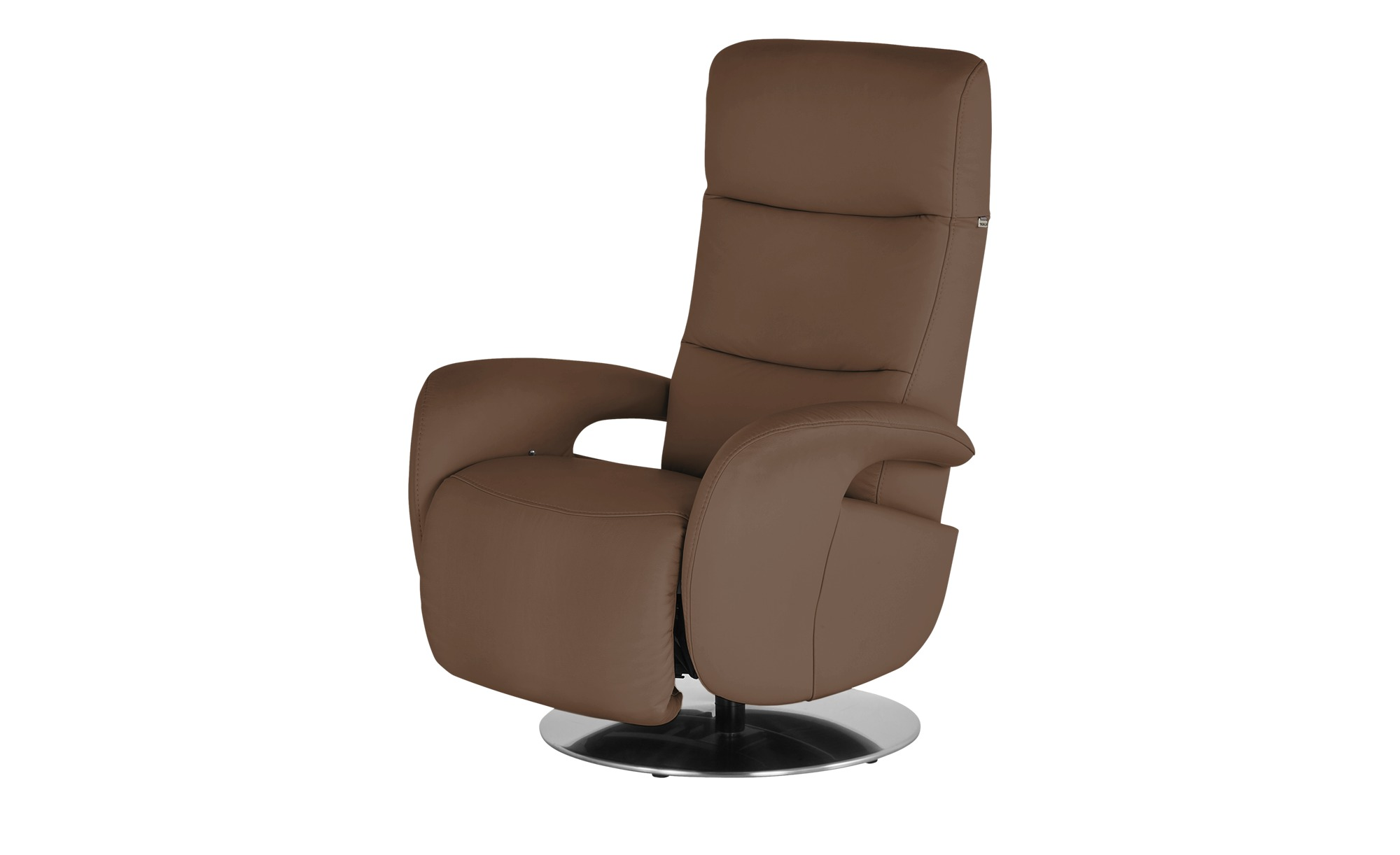 Hukla Relaxsessel  Andy ¦ braun ¦ Maße (cm): B: 79 H: 110 T: 85 Polstermöbel > Sessel > Fernsehsessel - Höffner