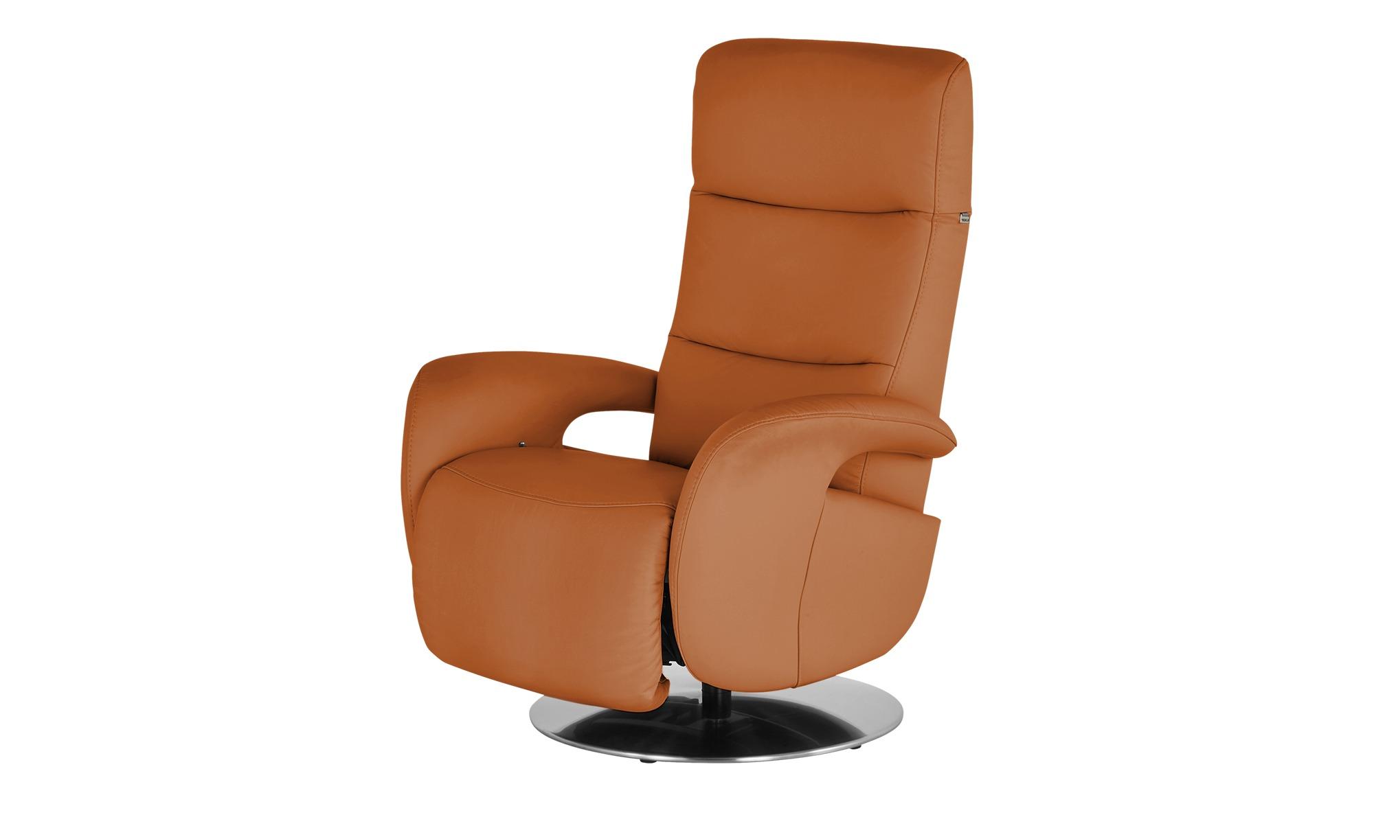 Hukla Relaxsessel  Andy ¦ orange ¦ Maße (cm): B: 79 H: 110 T: 85 Polstermöbel > Sessel > Fernsehsessel - Höffner