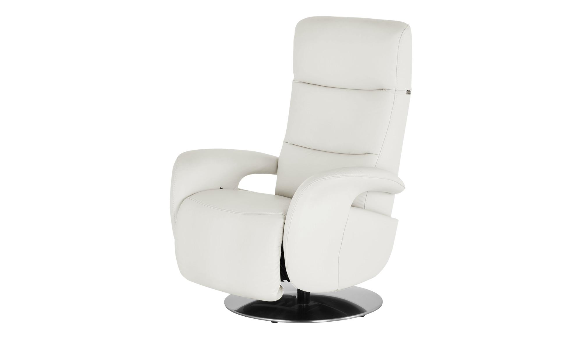 Hukla Relaxsessel  Andy ¦ weiß ¦ Maße (cm): B: 79 H: 110 T: 85 Polstermöbel > Sessel > Fernsehsessel - Höffner