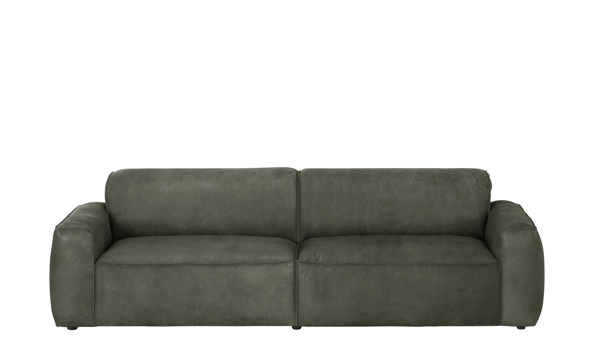 Gray & Jones Ledersofa  Black Coast Factory ¦ grau ¦ Maße (cm): B: 260 H: 75 T: 95 Polstermöbel > Sofas > Einzelsofas - Höffner