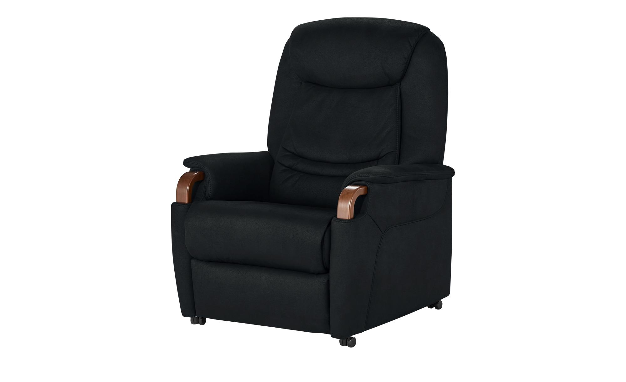 Hukla Relaxsessel  Jonas ¦ schwarz ¦ Maße (cm): B: 83 H: 106 T: 82 Polstermöbel > Sessel > Fernsehsessel - Höffner