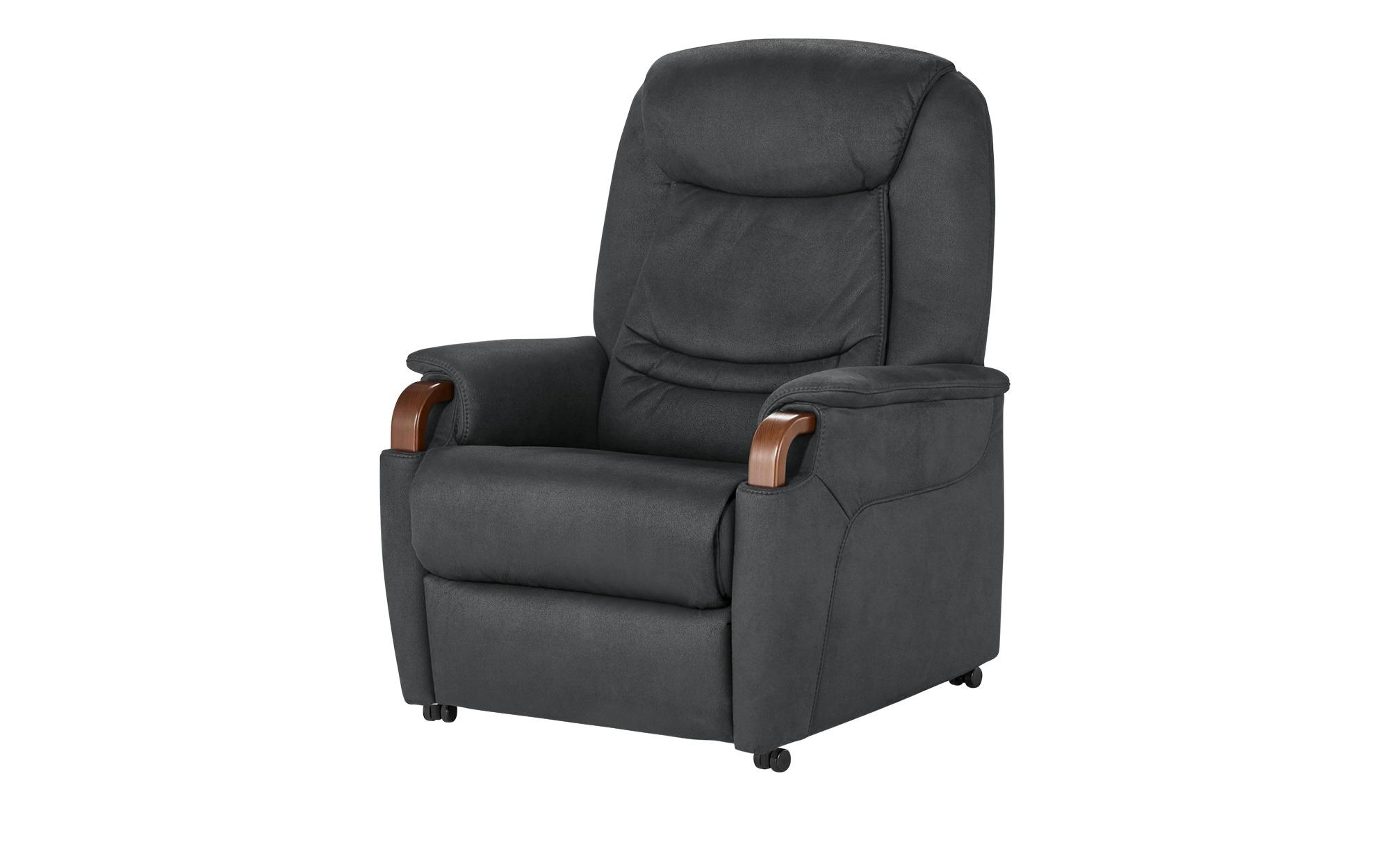 Hukla Relaxsessel  Jonas ¦ grau ¦ Maße (cm): B: 83 H: 106 T: 82 Polstermöbel > Sessel > Fernsehsessel - Höffner