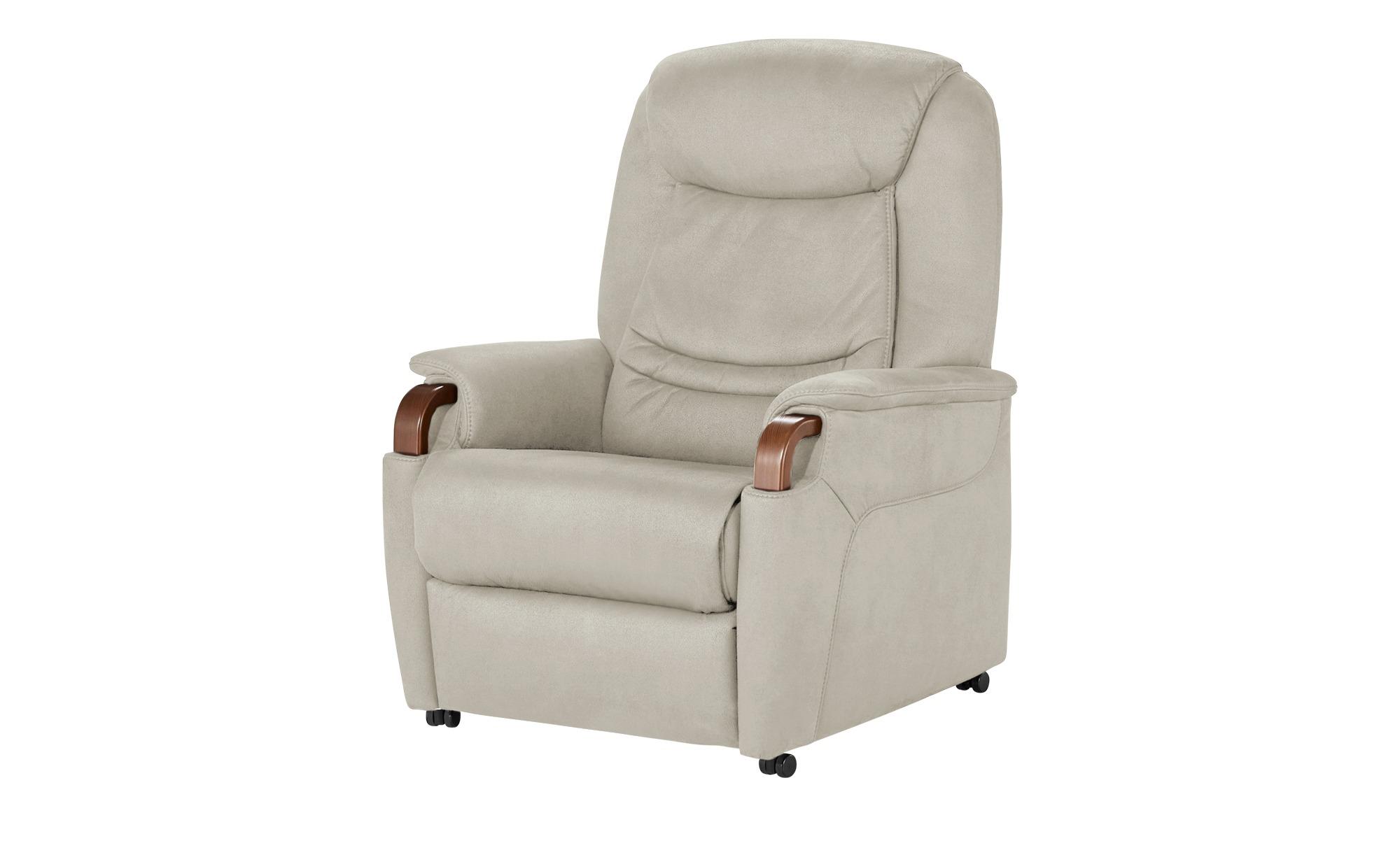 Hukla Relaxsessel  Jonas ¦ beige ¦ Maße (cm): B: 83 H: 106 T: 82 Polstermöbel > Sessel > Fernsehsessel - Höffner