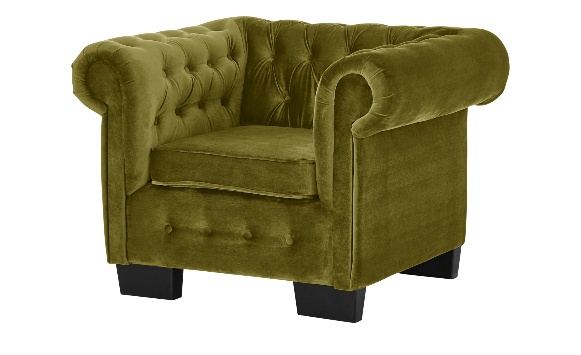 smart Sessel  Chelli ¦ grün ¦ Maße (cm): B: 102 H: 75 T: 89 Polstermöbel > Sessel > Polstersessel - Höffner