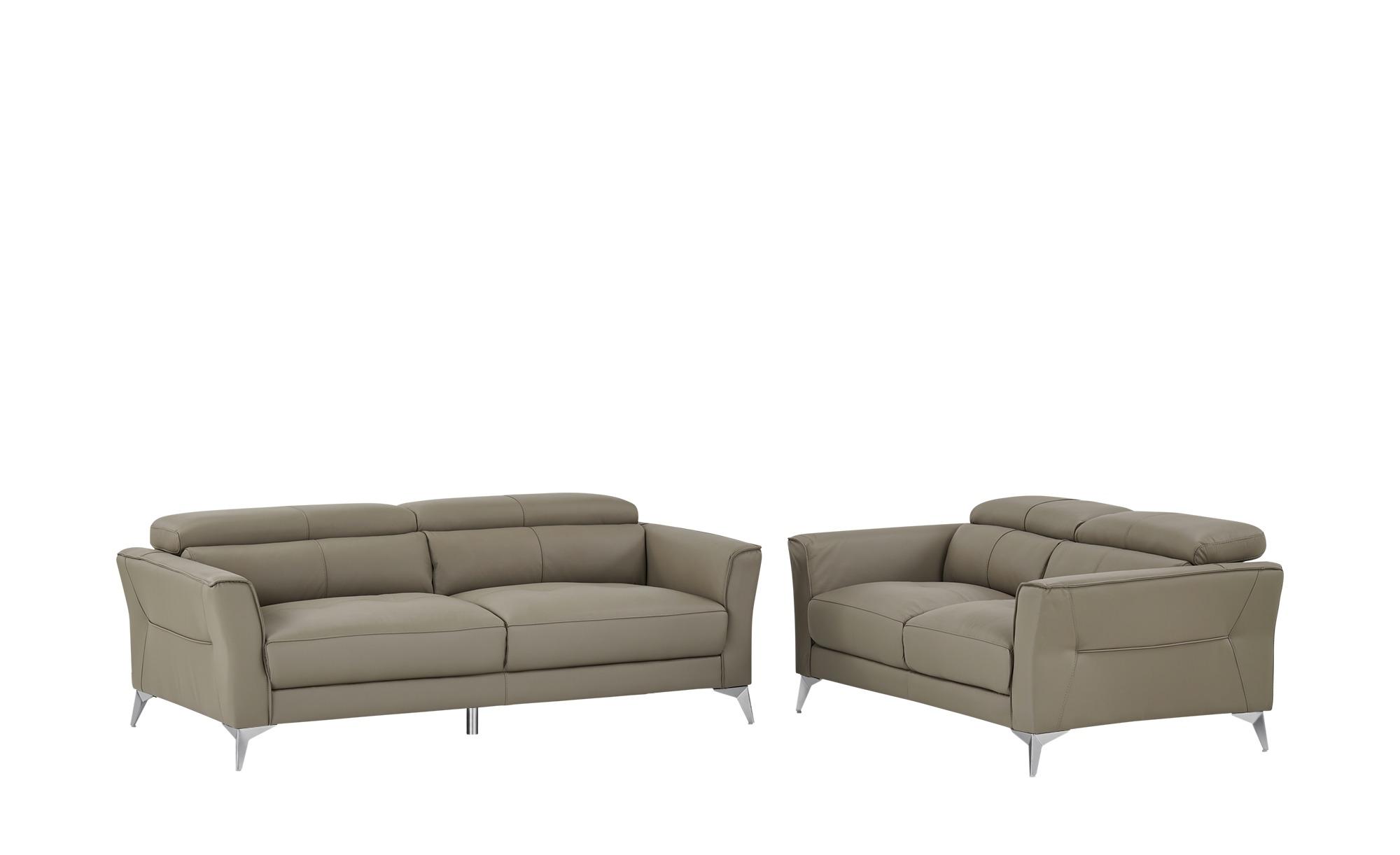 Sitzgruppe  Sophie ¦ grau ¦ Maße (cm): H: 88 T: 102 Polstermöbel > Sofas > Sitzgruppen - Höffner