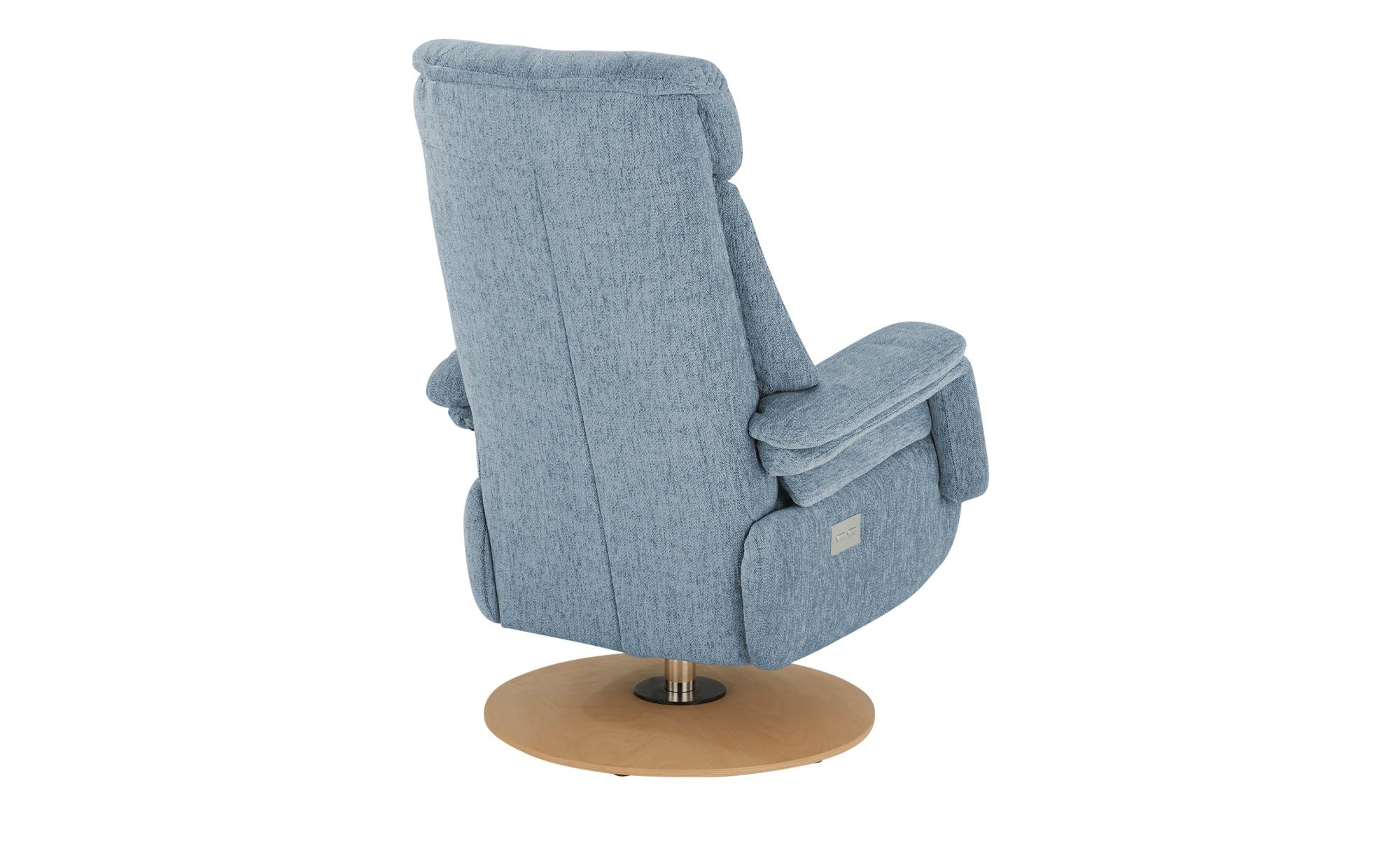 Polstermöbel Oelsa TV-Sessel  Blues ¦ blau ¦ Maße (cm): B: 82 H: 112 T: 90 Polstermöbel > Sessel > Polstersessel - Höffner