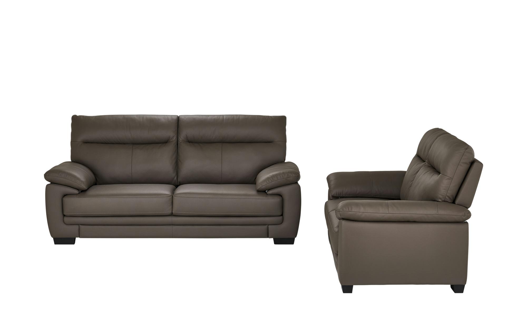 uno Sitzgruppe  Quella ¦ braun ¦ Maße (cm): H: 98 T: 97 Polstermöbel > Sofas > Sitzgruppen - Höffner