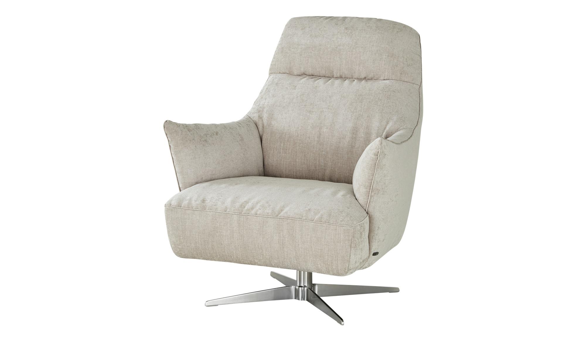 Natuzzi Editions Sessel  Calma ¦ Maße (cm): B: 90 H: 105 T: 91 Polstermöbel > Sessel > Drehsessel - Höffner
