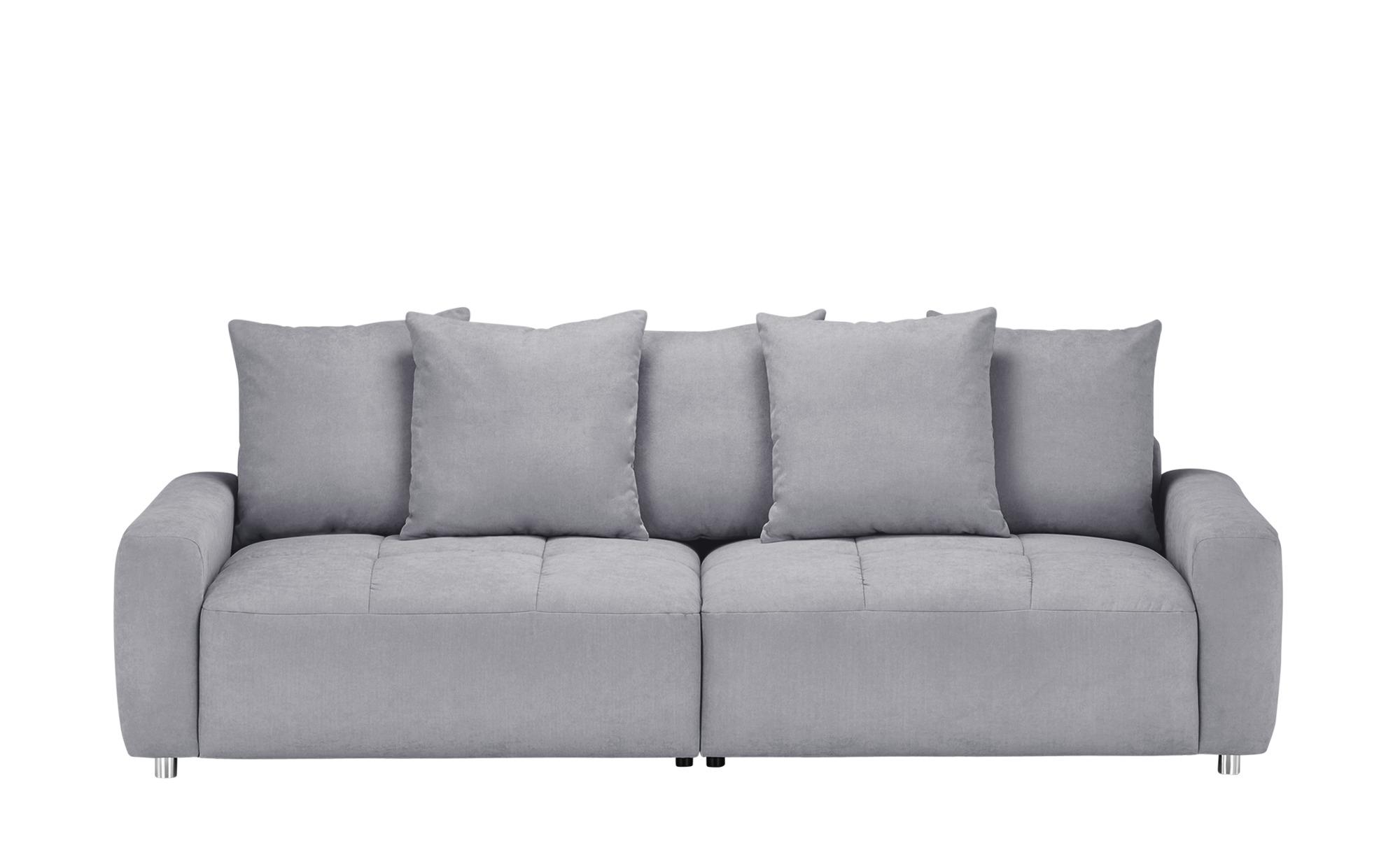 bobb Big Sofa  Betty ¦ grau ¦ Maße (cm): B: 266 H: 90 T: 104 Polstermöbel > Sofas > Big-Sofas - Höffner