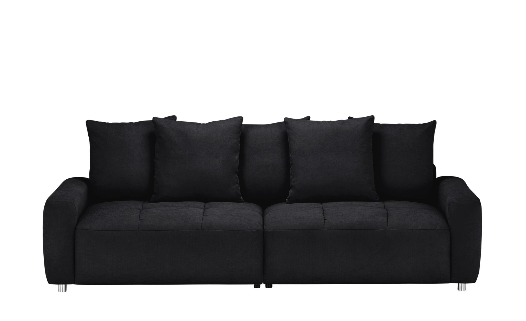 bobb Big Sofa  Betty ¦ schwarz ¦ Maße (cm): B: 266 H: 90 T: 104 Polstermöbel > Sofas > Big-Sofas - Höffner
