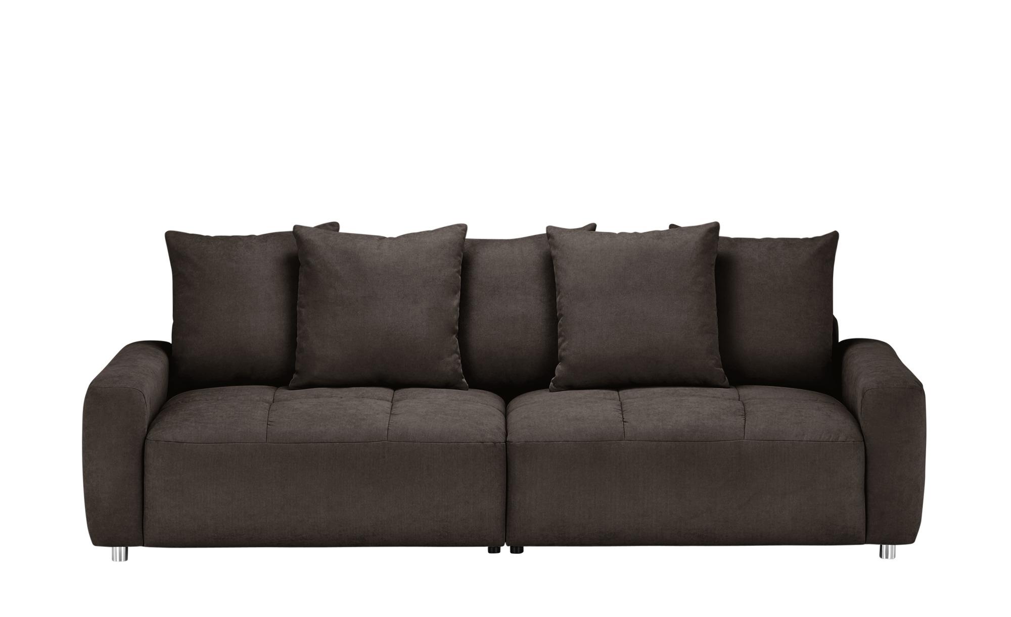 bobb Big Sofa  Betty ¦ braun ¦ Maße (cm): B: 266 H: 90 T: 104 Polstermöbel > Sofas > Big-Sofas - Höffner