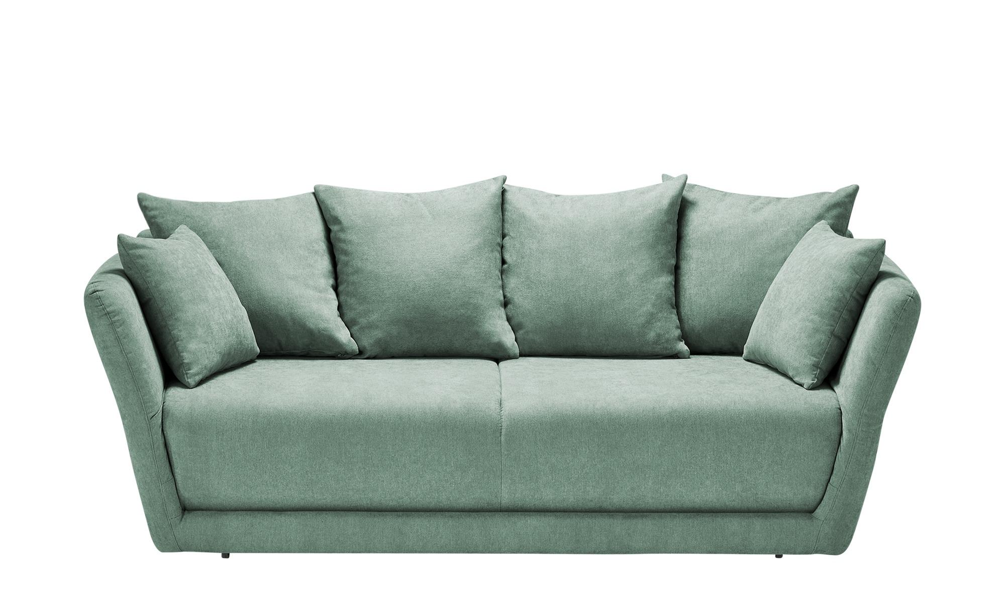 Schlafsofa  Vevi ¦ grün ¦ Maße (cm): B: 210 H: 83 T: 98 Polstermöbel > Sofas > Einzelsofas - Höffner