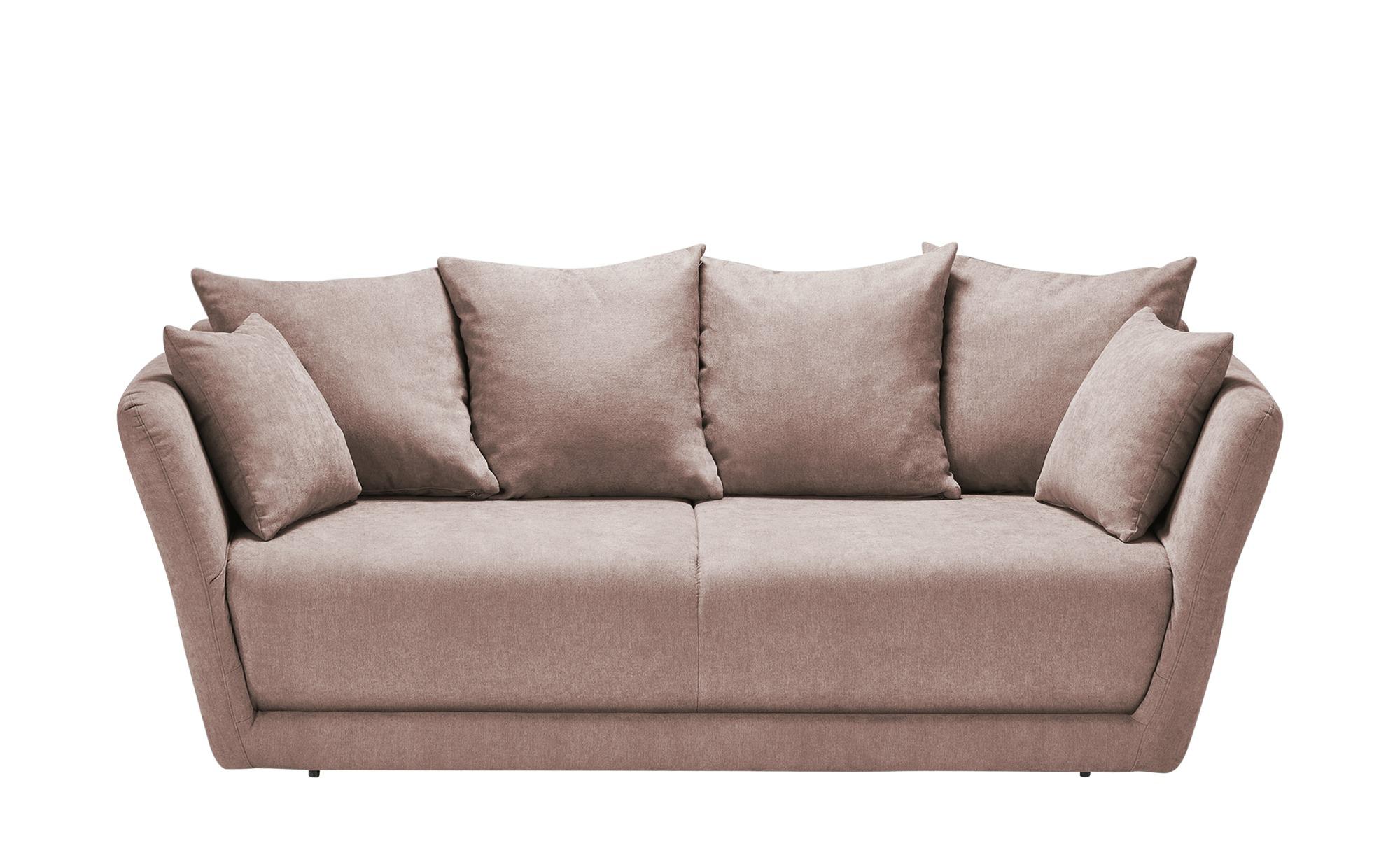 Schlafsofa  Vevi ¦ rosa/pink ¦ Maße (cm): B: 210 H: 83 T: 98 Polstermöbel > Sofas > Einzelsofas - Höffner