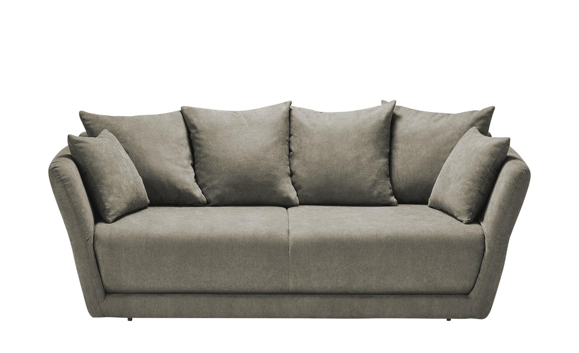 Schlafsofa  Vevi ¦ braun ¦ Maße (cm): B: 210 H: 83 T: 98 Polstermöbel > Sofas > Einzelsofas - Höffner